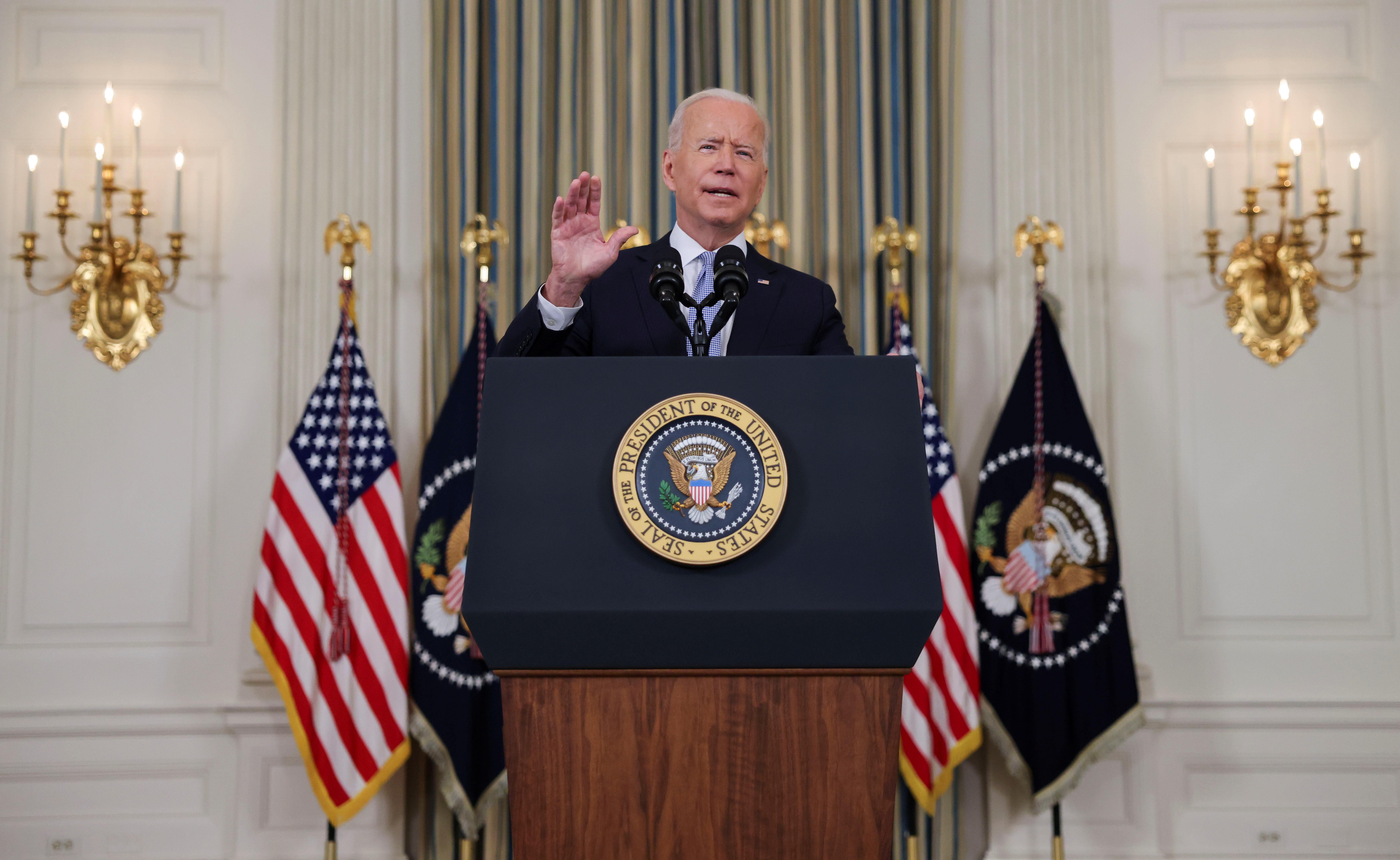 U.S. President Joe Biden. REUTERS/Evelyn Hockstein