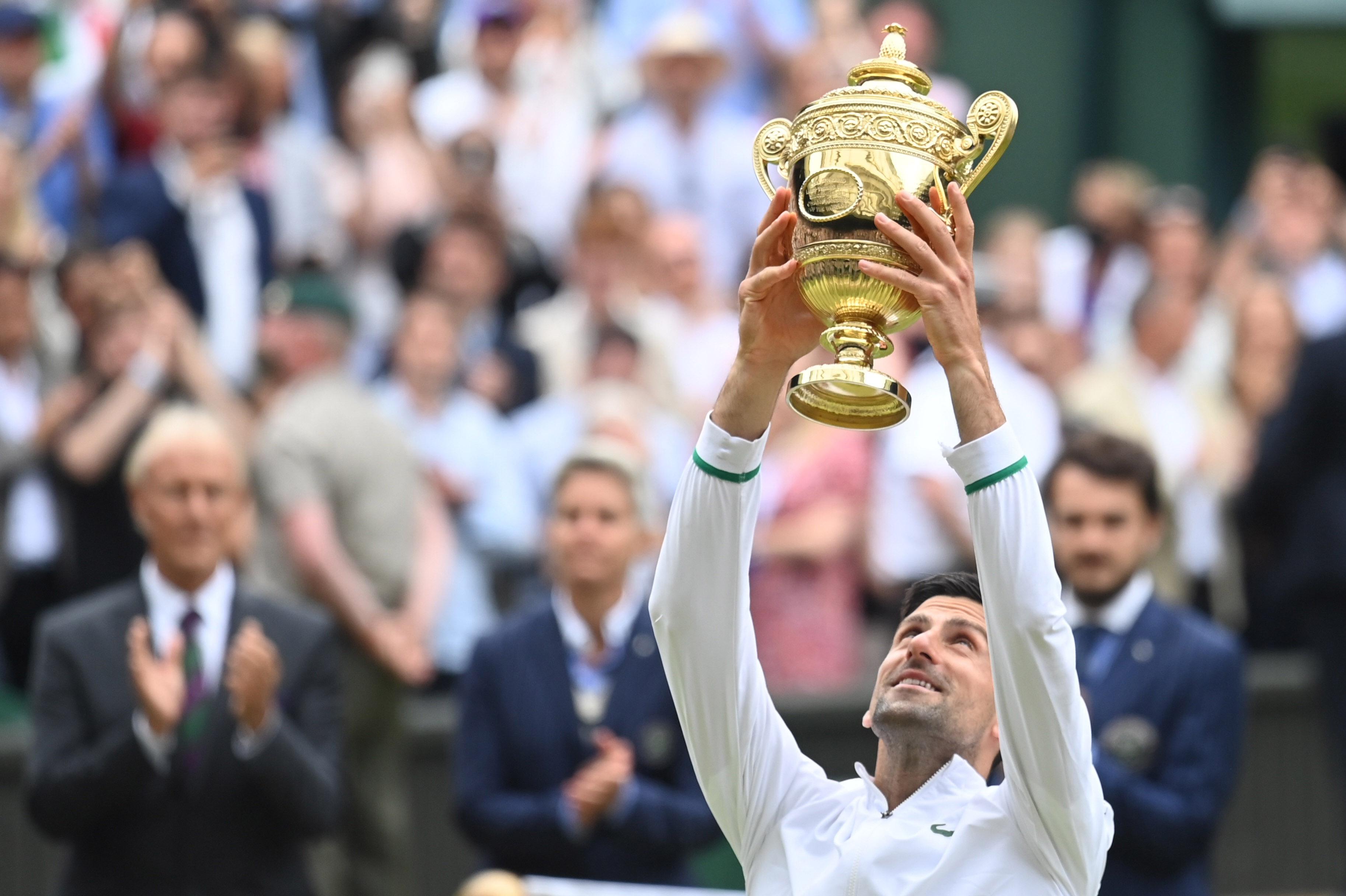 Factbox Wimbledon Men S Singles Champion Novak Djokovic Reuters