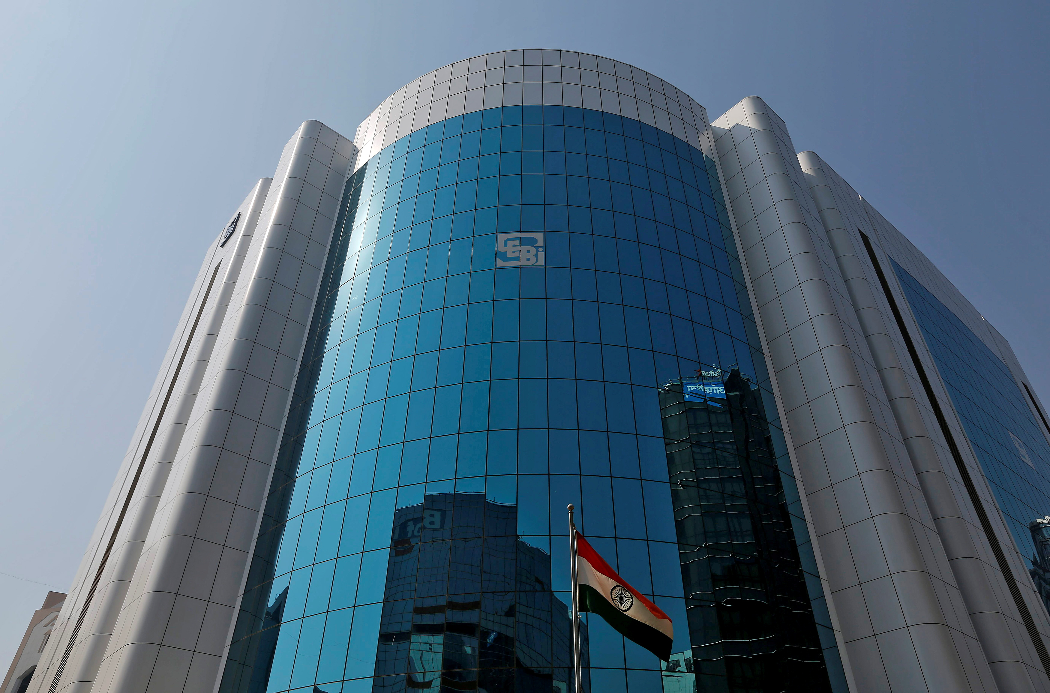 The Securities and Exchange Board of India (SEBI) offices, Mumbai, India. REUTERS/Shailesh Andrade