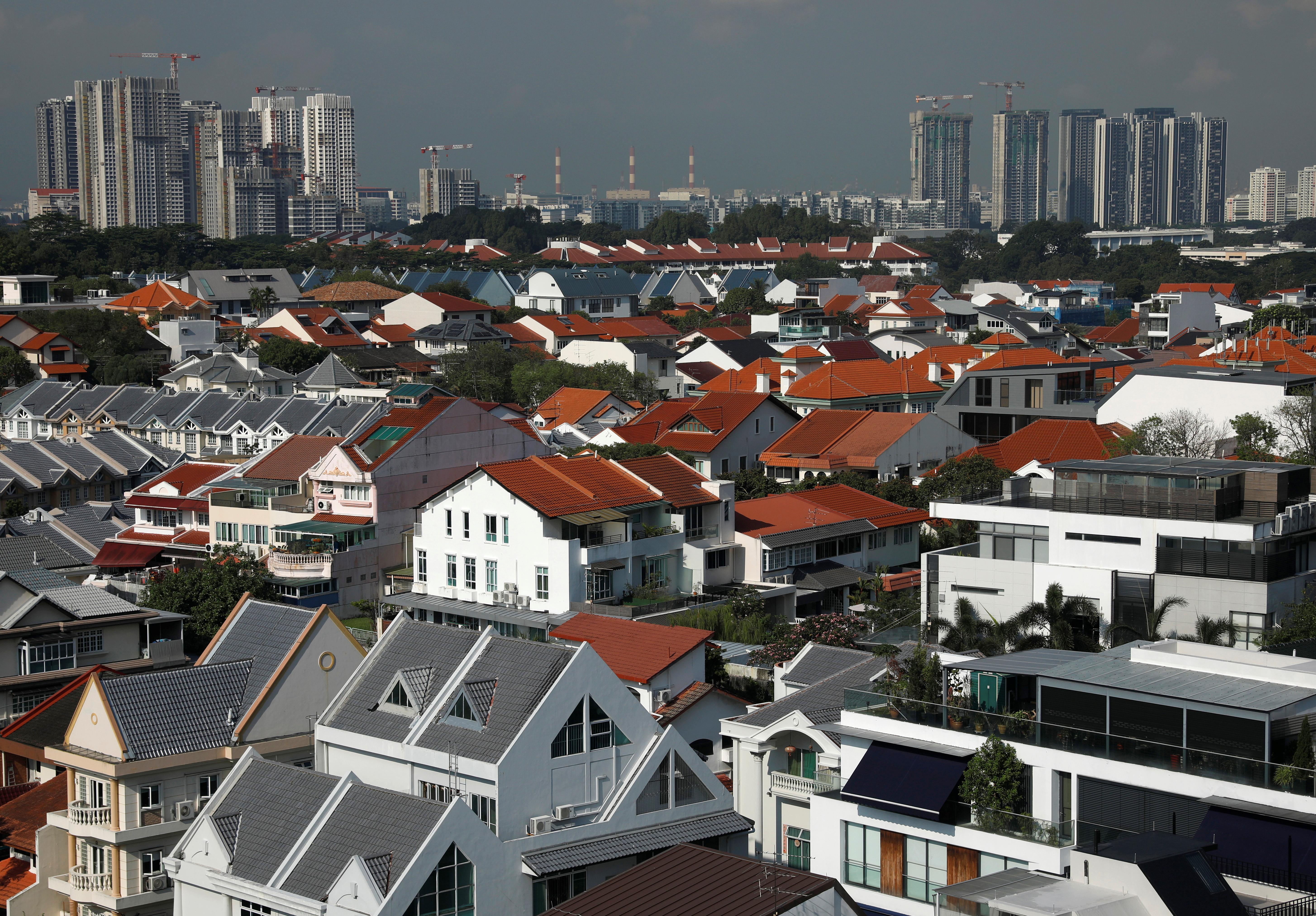 View of private residential properties in Singapore April 28, 2021.  REUTERS/Edgar Su