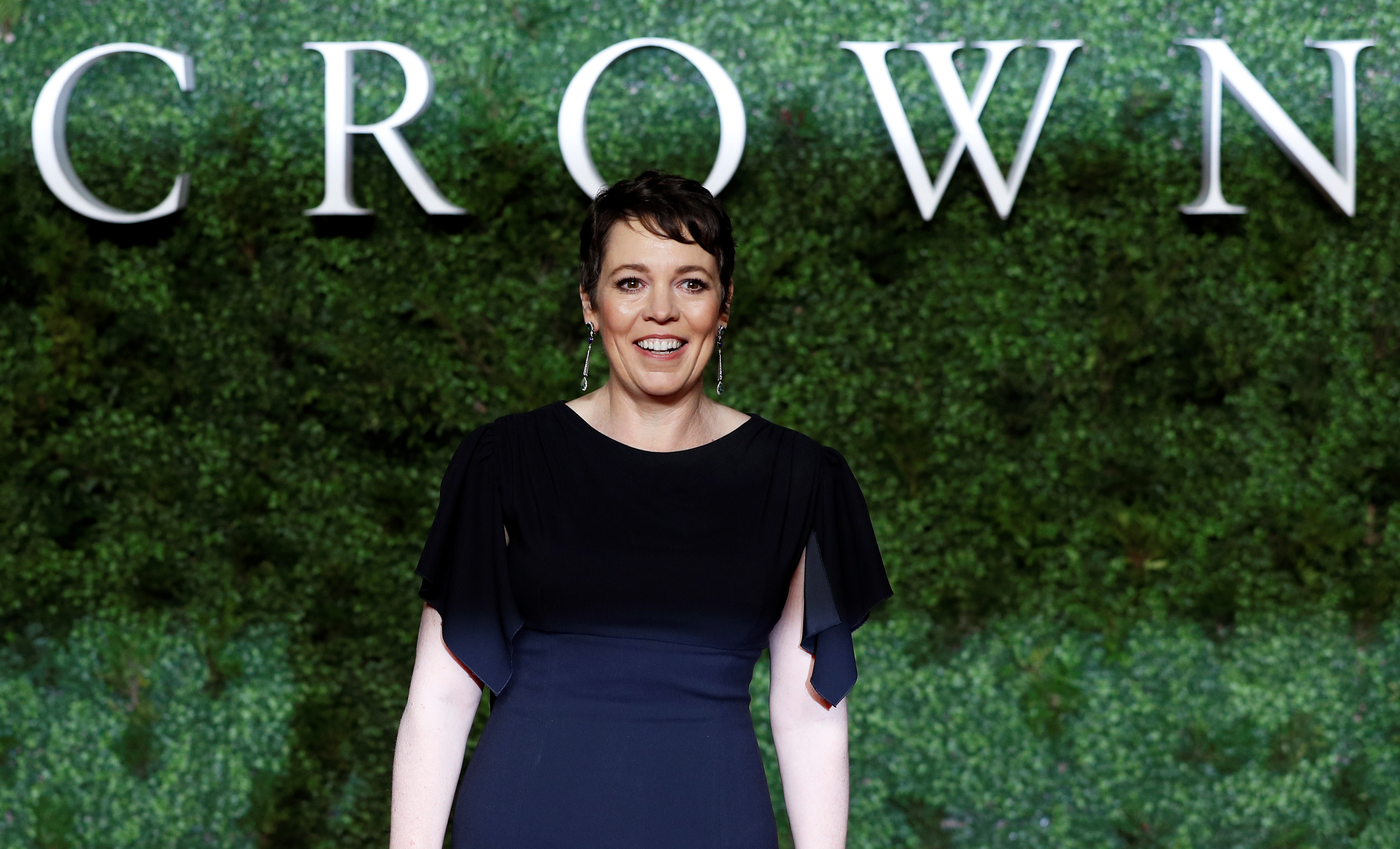 Actor Olivia Colman attends the world premiere of the third season of