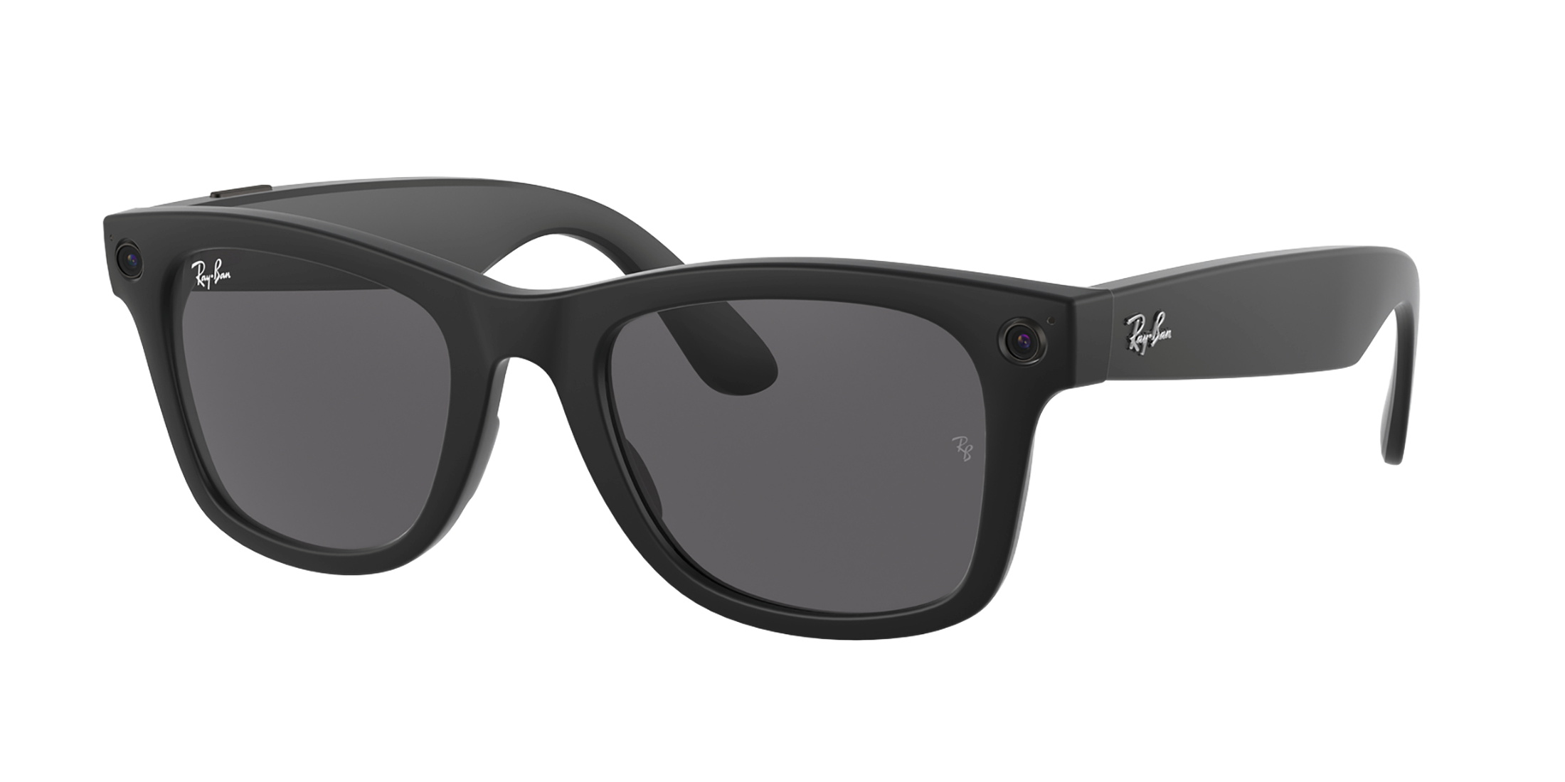 Facebook and Ray-Ban's first smart glasses which launched on September 9, 2021. Ray-Ban and Facebook/Handout via REUTERS