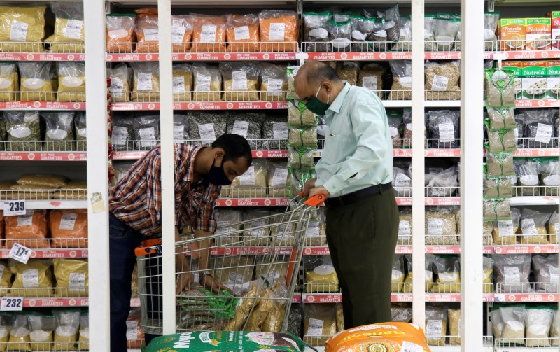 People shop at the Big Bazaar retail store in Mumbai, India, November 25, 2020. REUTERS/Niharika Kulkarni