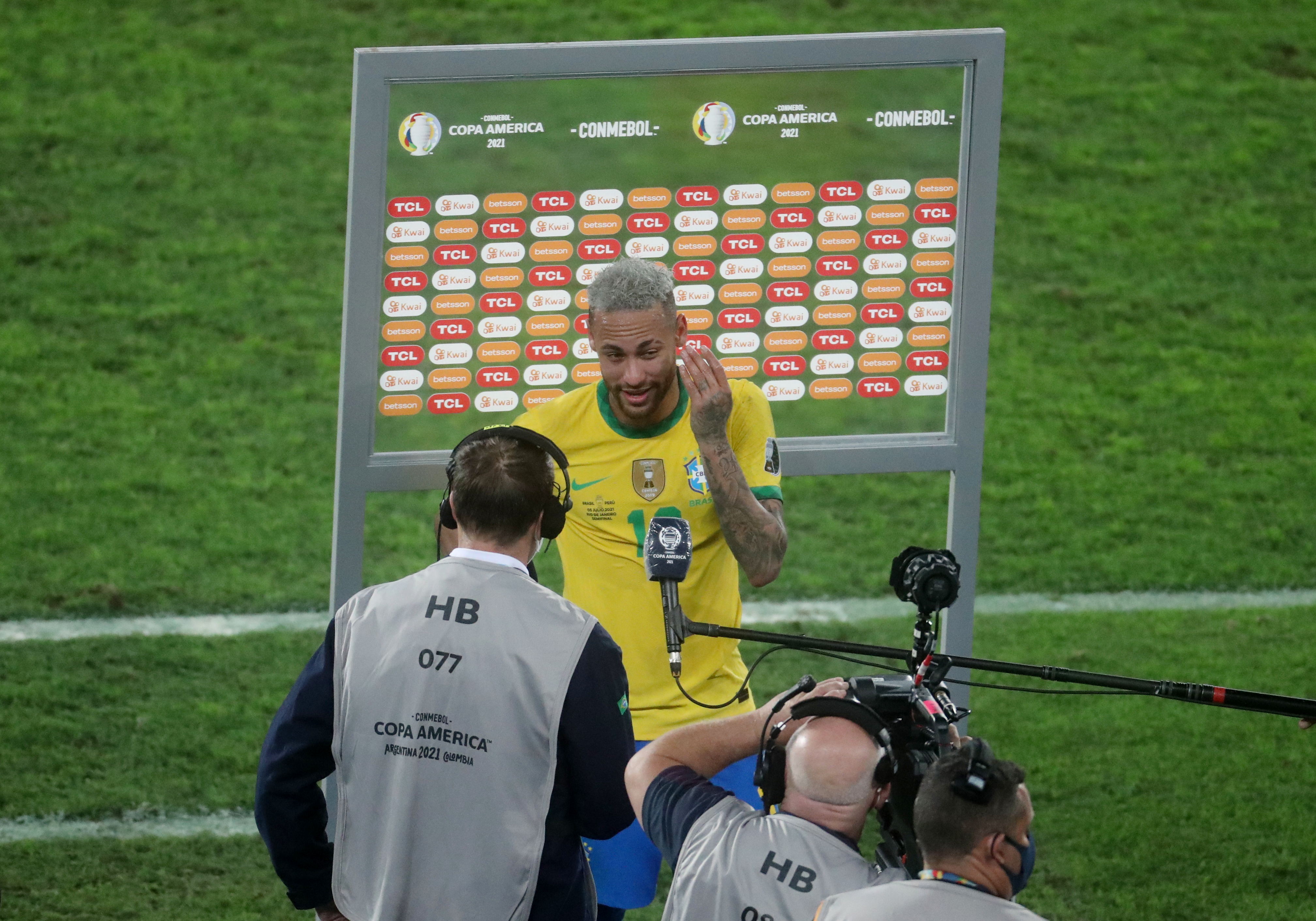 Neymar wants Brazil to face Argentina in Copa America final | Reuters