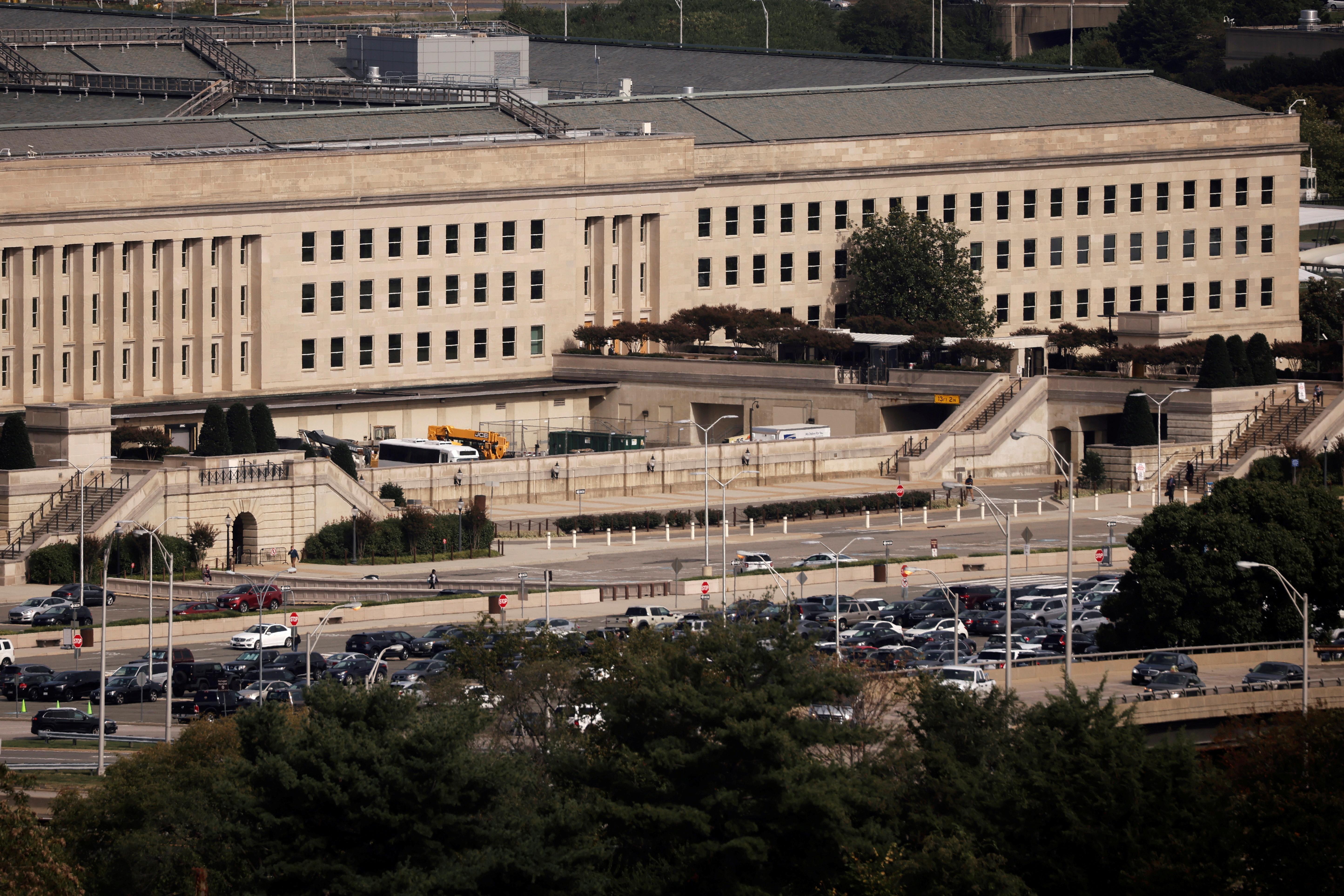 The Pentagon building is seen in Arlington, Virginia. REUTERS/Carlos Barria