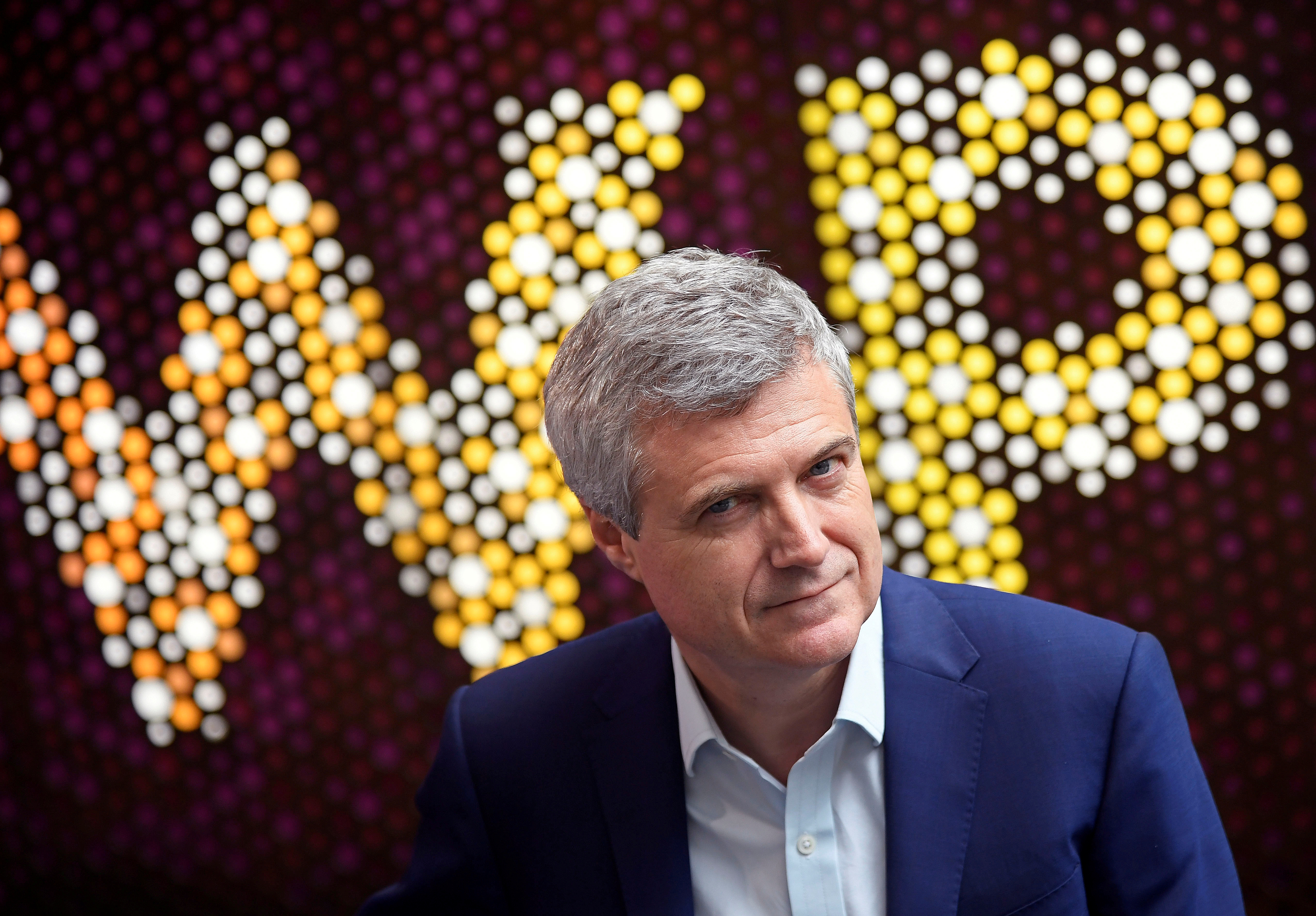 Mark Read, CEO of WPP, the largest global advertising and public relations agency, poses for a portrait at their offices in London, Britain, July 17, 2019. REUTERS/Toby Melville
