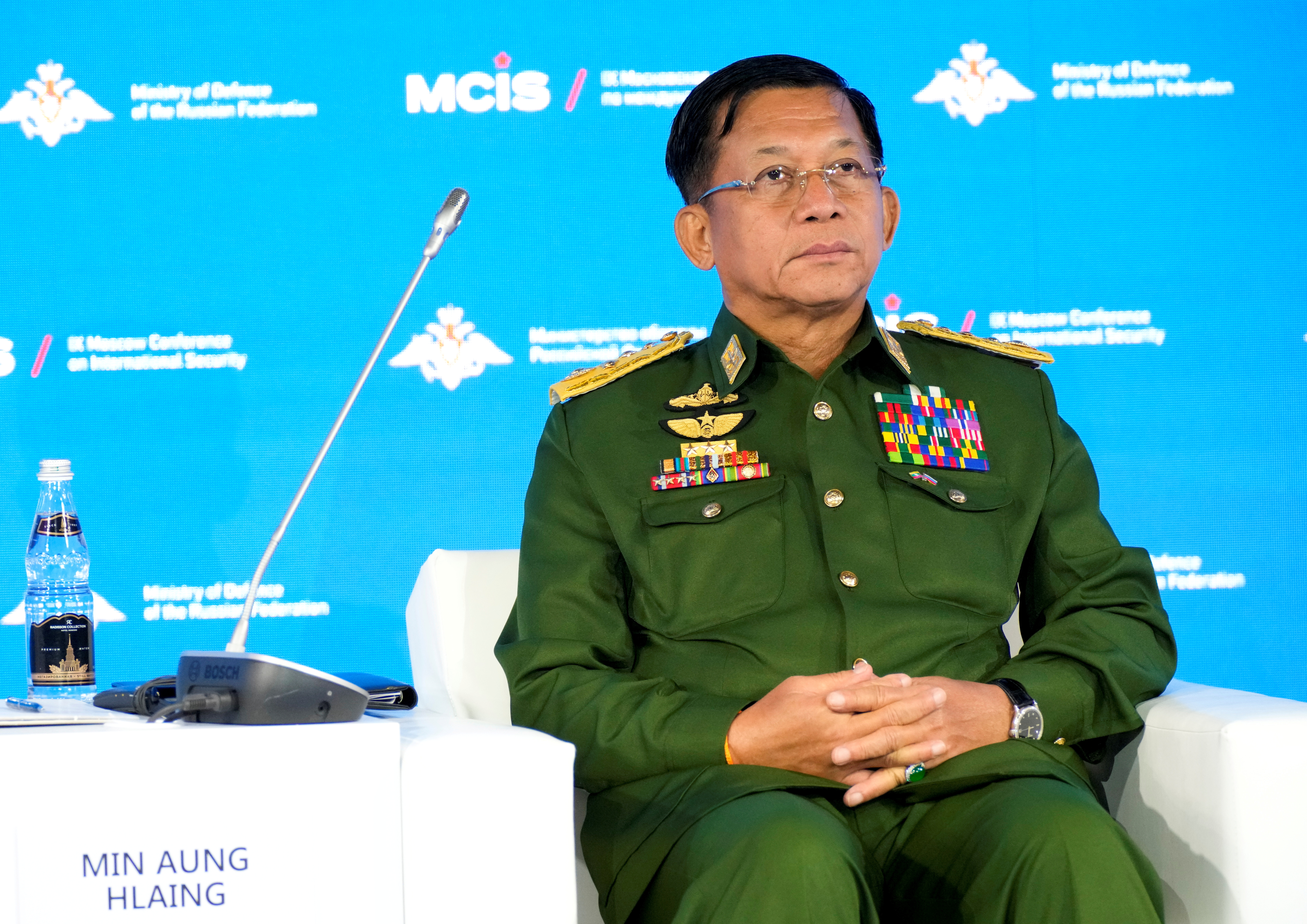 Myanmar says it's committed to ASEAN peace plan, despite general's snub