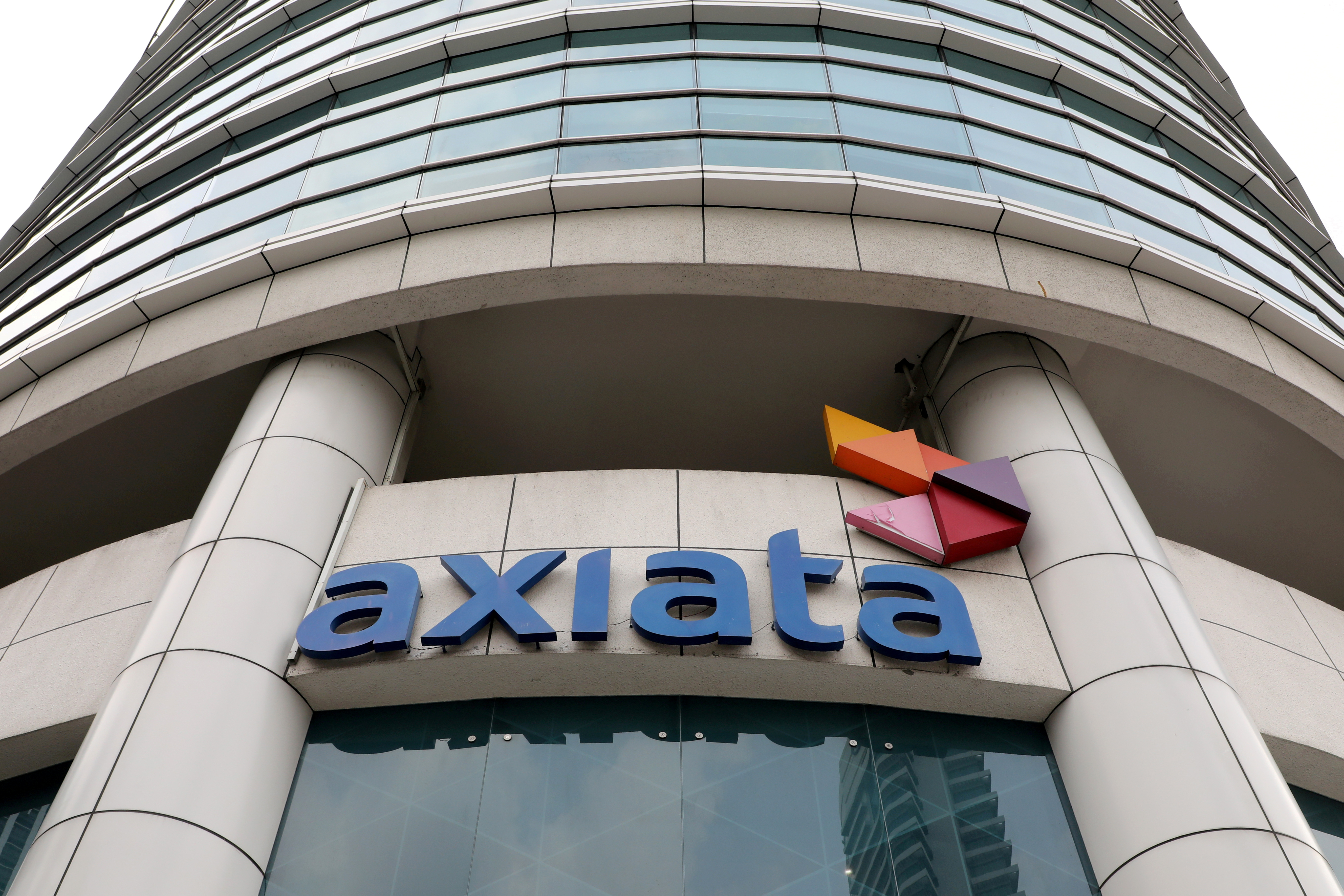 A general view of the Axiata headquarters building in Kuala Lumpur, Malaysia, October 1, 2019. REUTERS/Lim Huey Teng/File Photo
