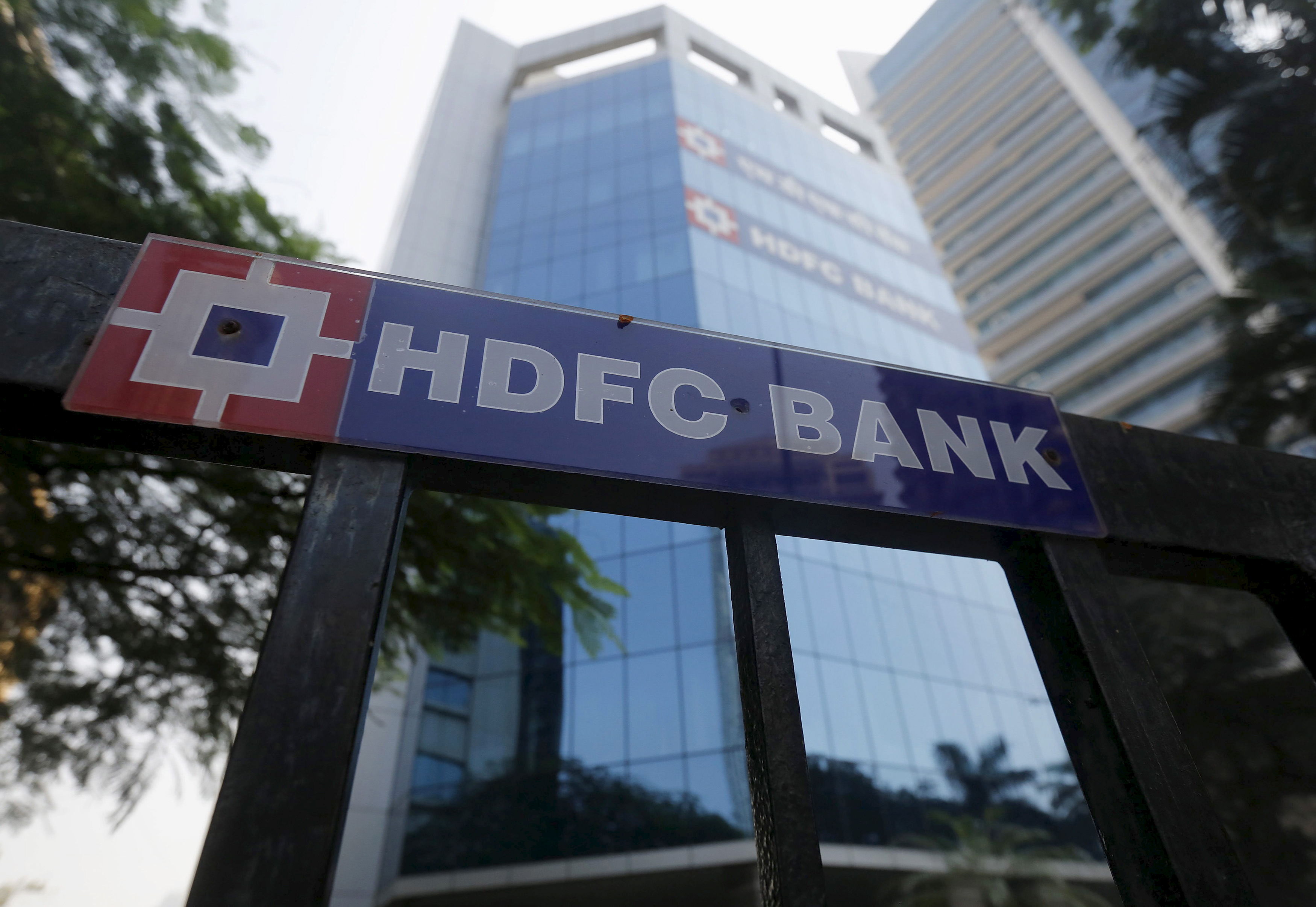 The headquarters of India's HDFC bank is pictured in Mumbai, India, December 4, 2015. To match interview HDFC BANK-OUTLOOK/                  REUTERS/Shailesh Andrade