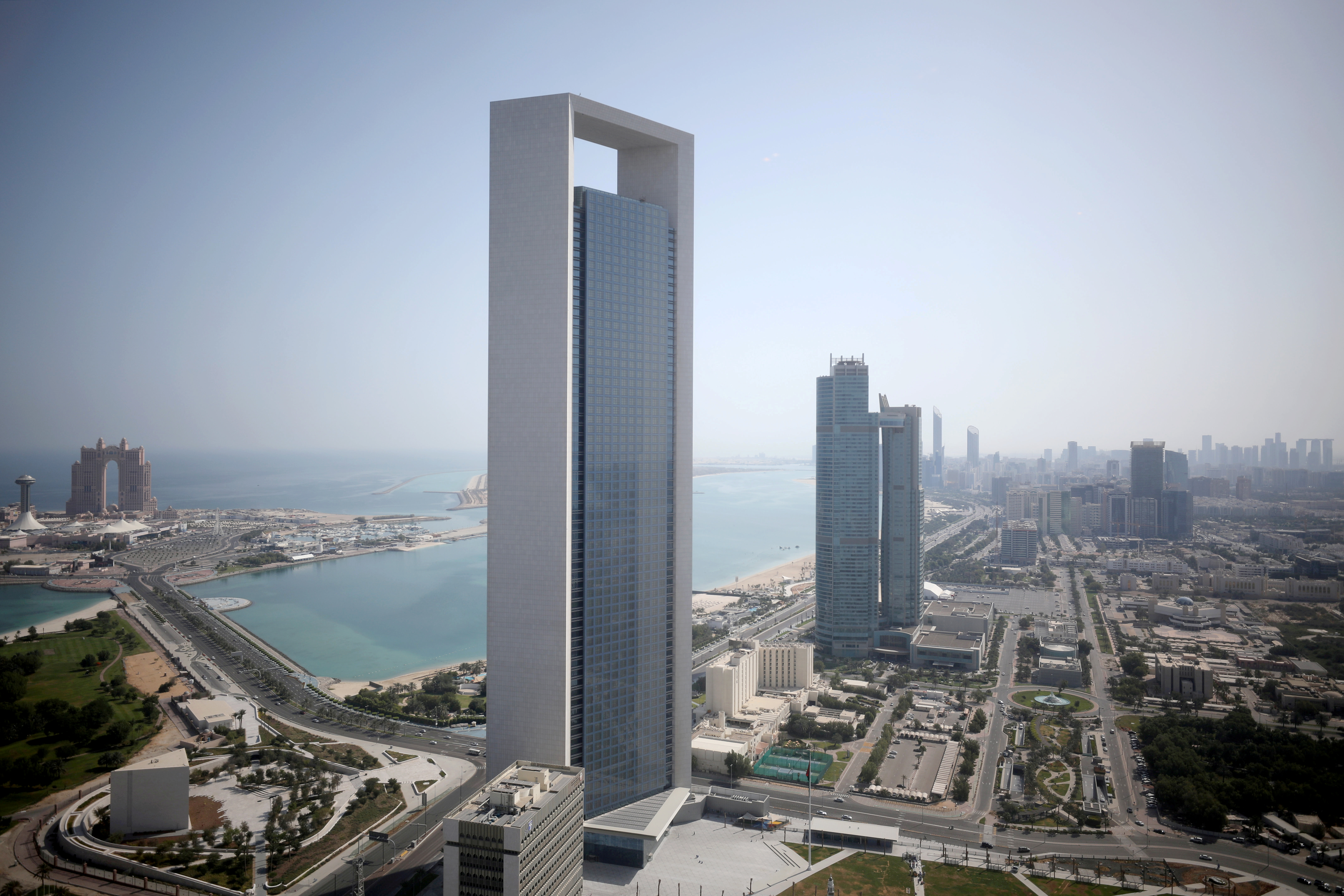 A general view of ADNOC headquarters in Abu Dhabi, United Arab Emirates May 29, 2019. REUTERS/Christopher Pike