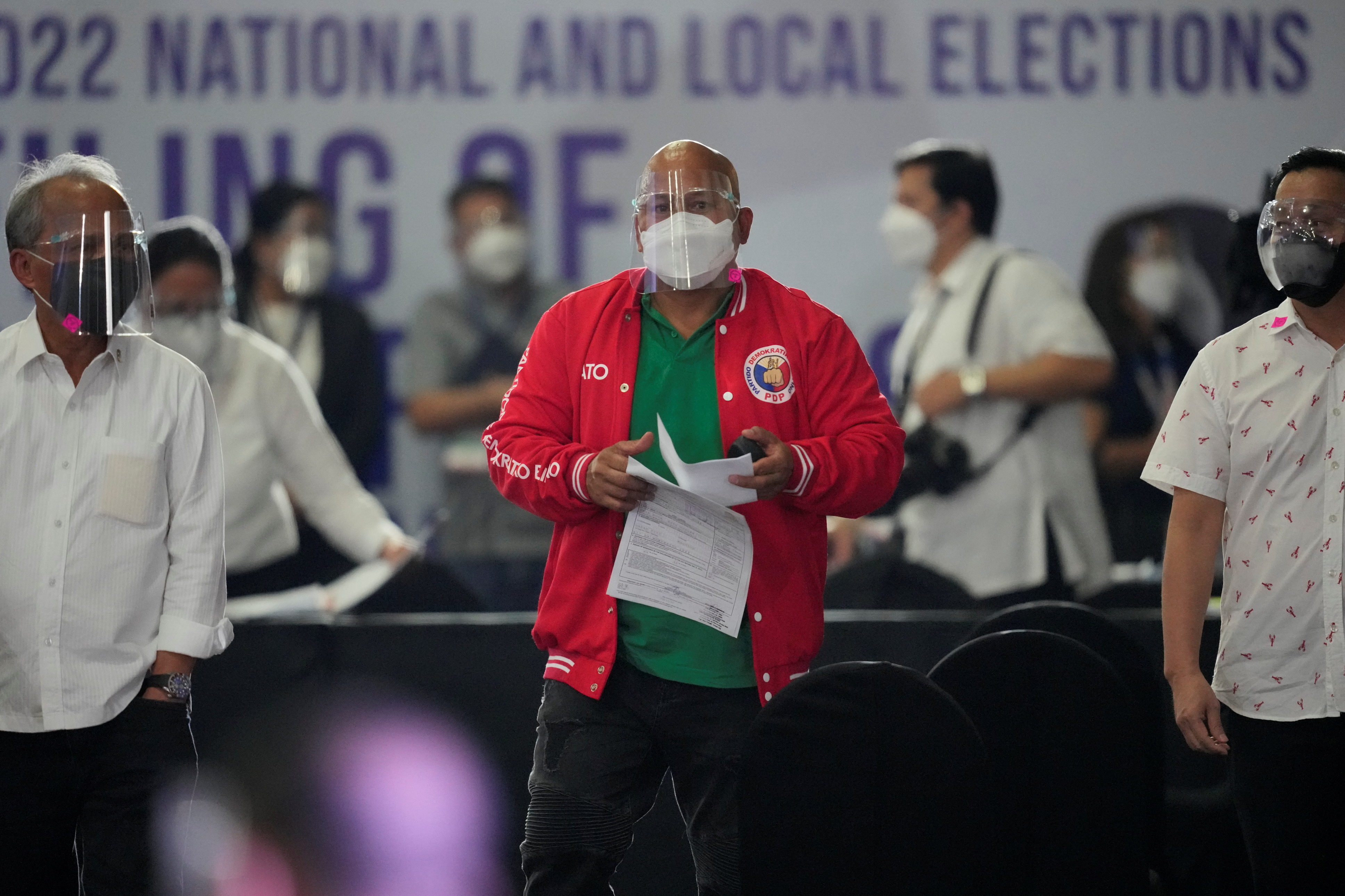 Philippine Senator Ronald