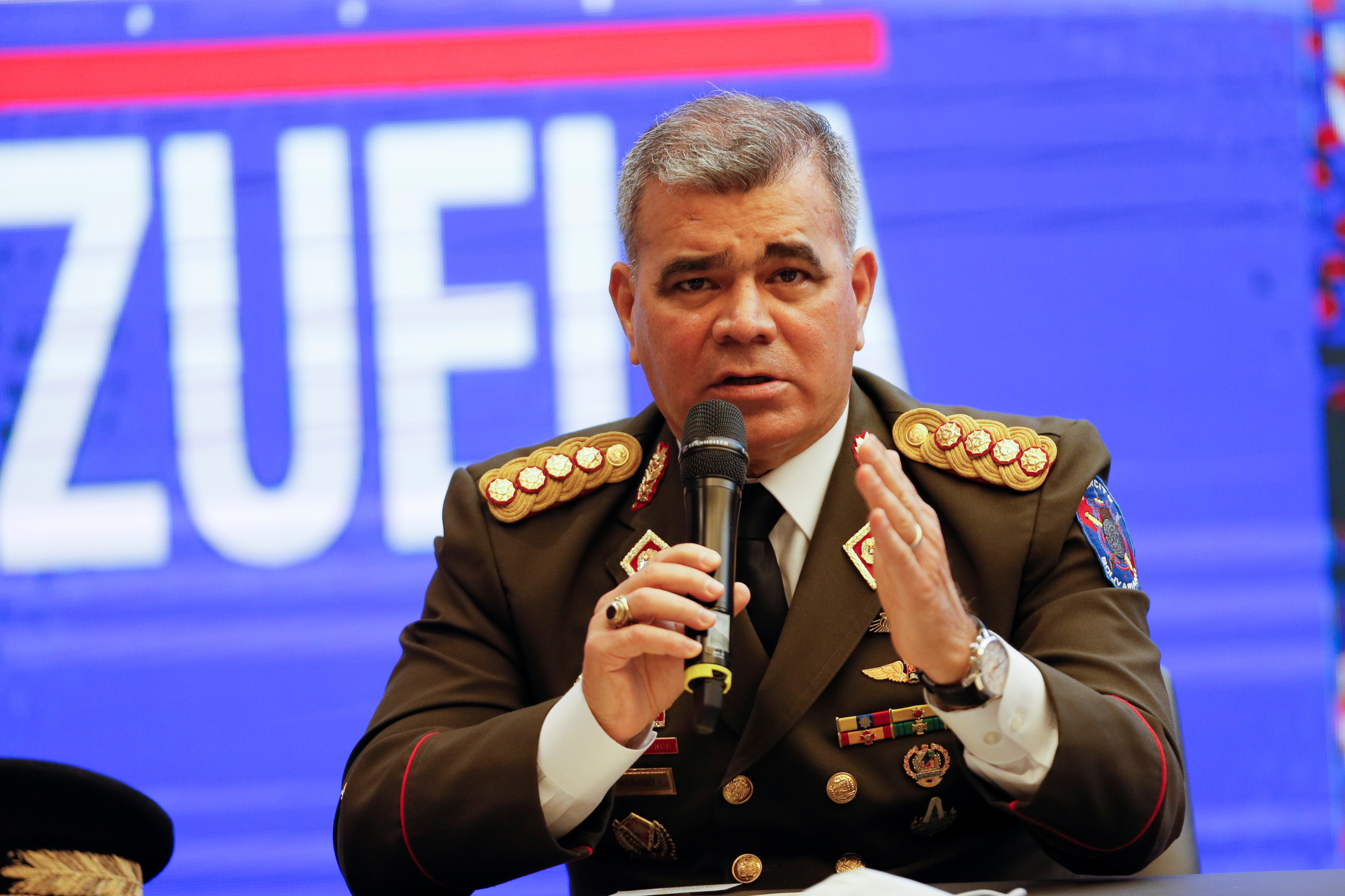 Venezuela says Colombian drone violates its airspace as U.S. admiral visits
