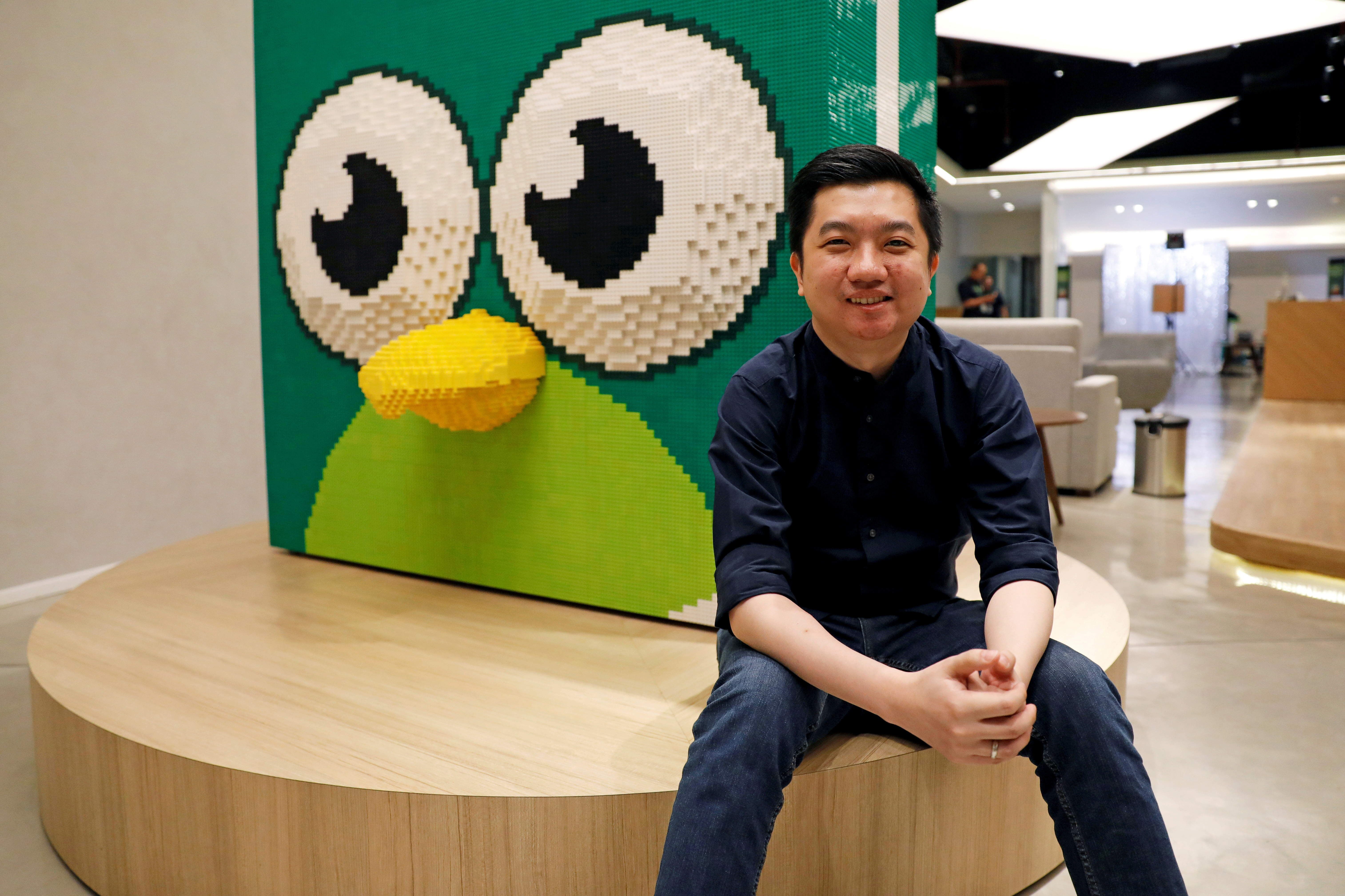 Indonesian e-commerce firm Tokopedia founder and CEO, William Tanuwijaya, poses for a photograph at Tokopedia headquarters in Jakarta, Indonesia, July 25, 2019. REUTERS/Willy Kurniawan