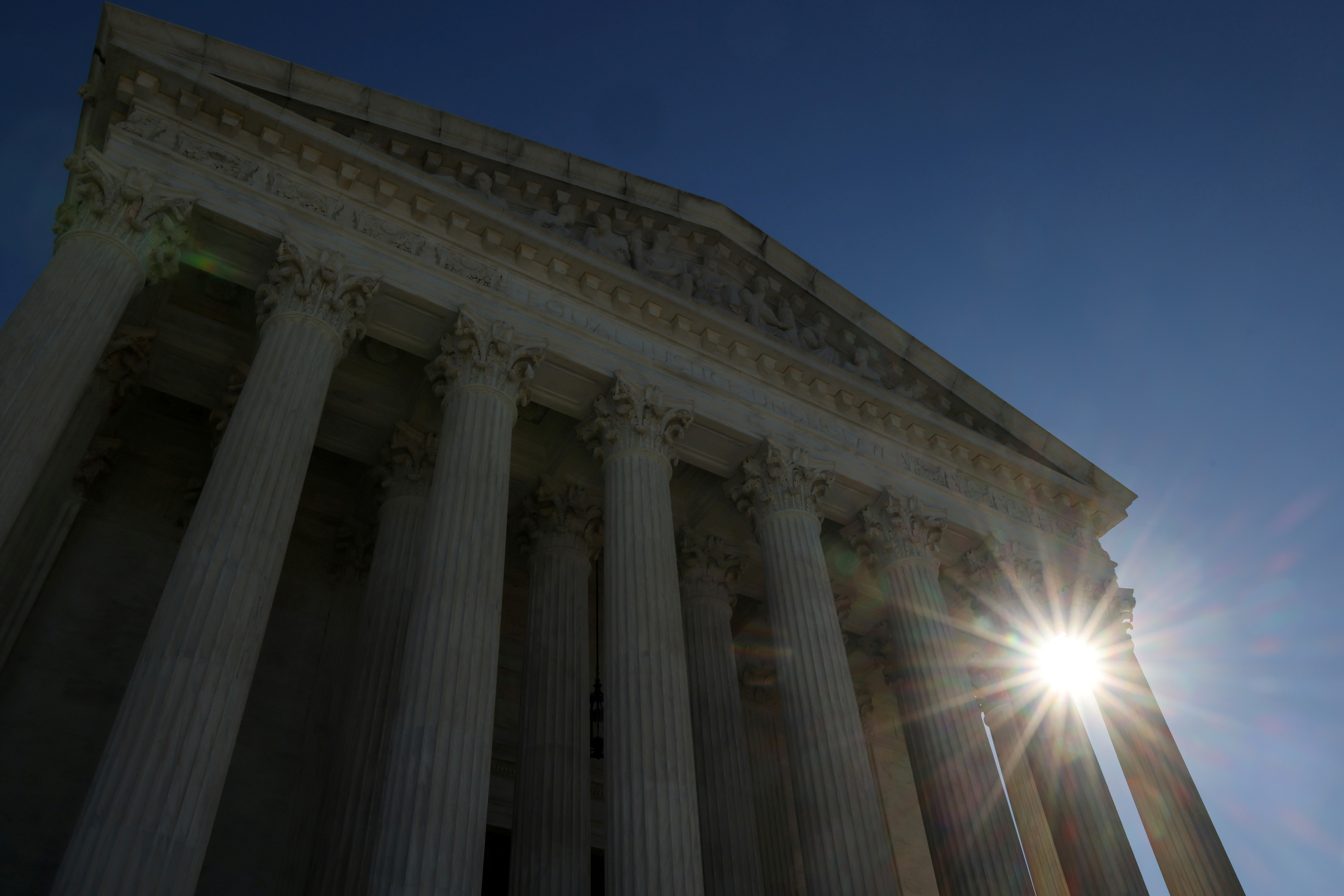 The U.S. Supreme Court building, Washington, U.S. November 4, 2020.  REUTERS/Jonathan Ernst