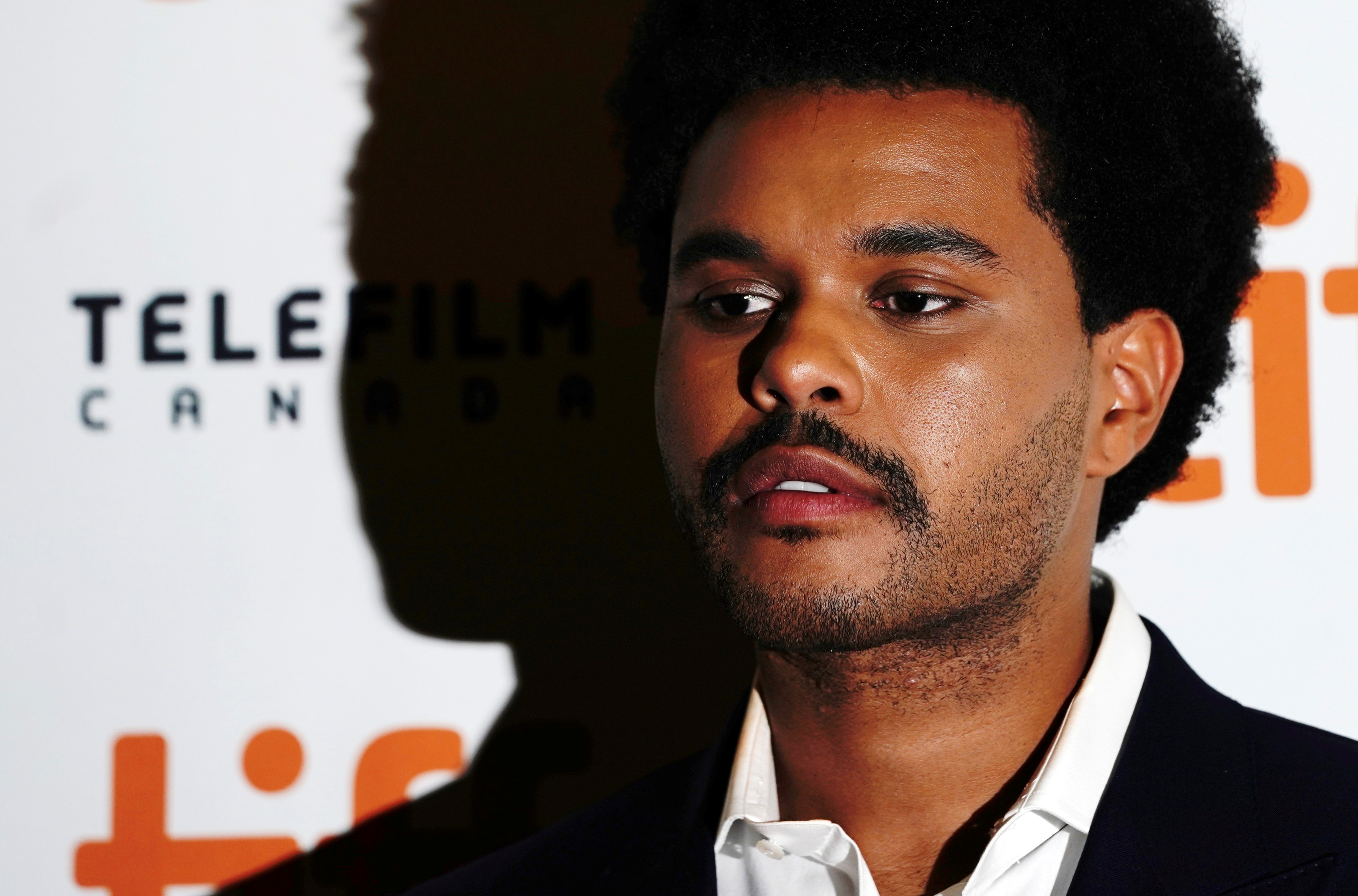 Abel Makkonen Tesfaye, known as The Weeknd, arrives at the international premiere of