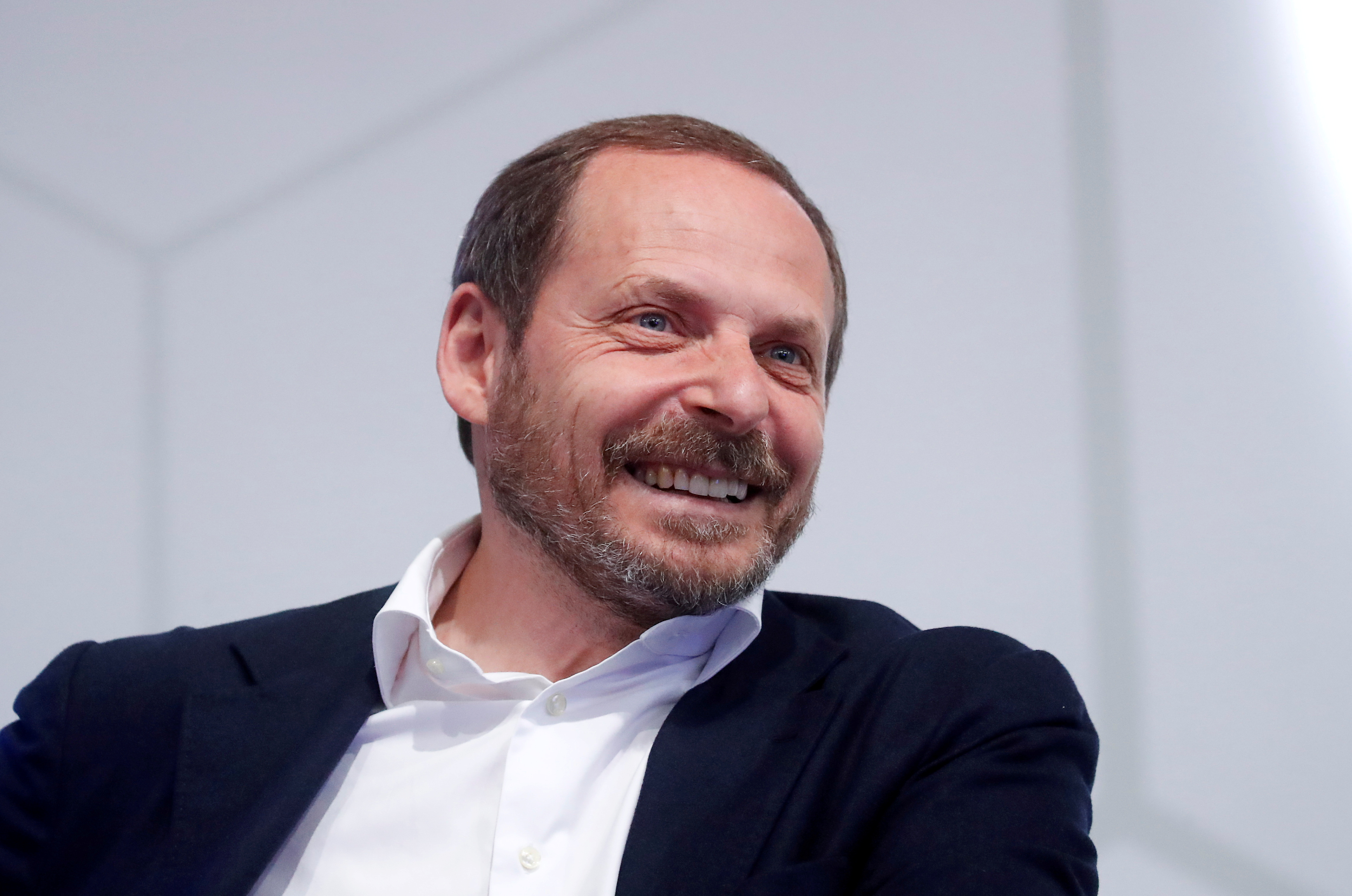 Arkady Volozh, Co-Founder and Chief Executive Officer of Yandex Group of Companies, attends a session of the St. Petersburg International Economic Forum (SPIEF), Russia June 7, 2019. REUTERS/Maxim Shemetov/File Photo