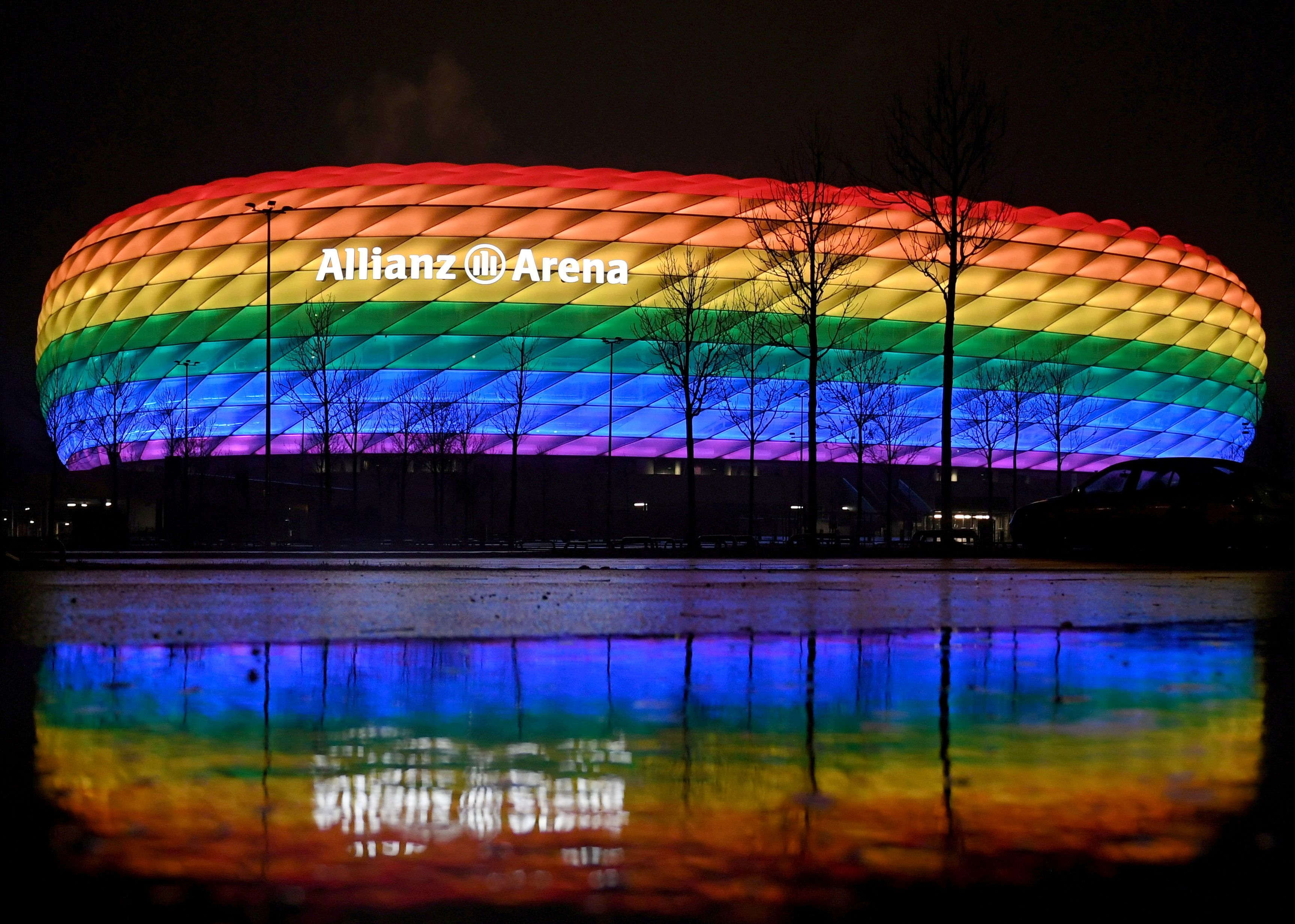 UEFA prohibits 'rainbow' protest at Germany vs Hungary game | Reuters