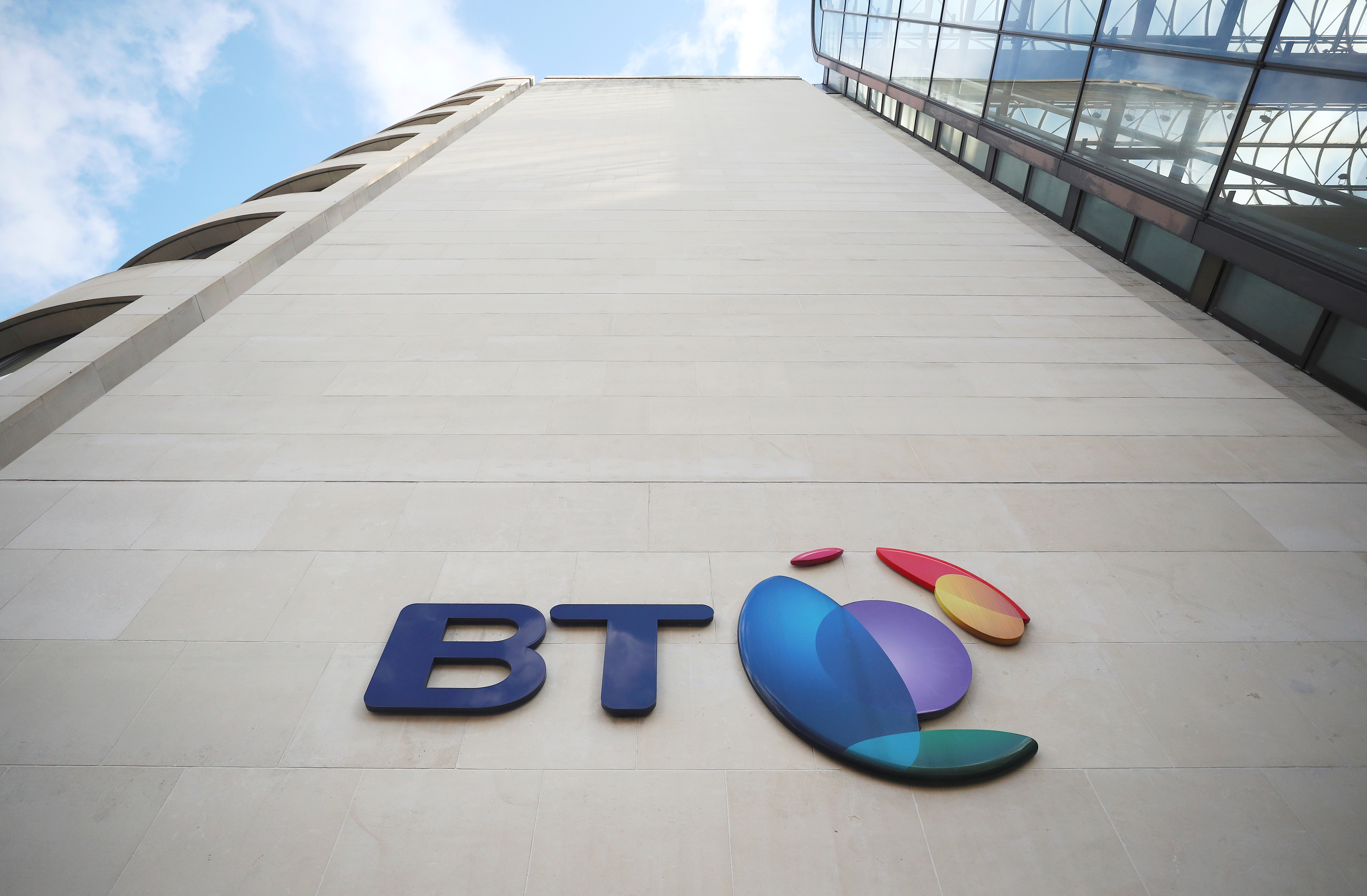 British Telecom (BT)'s headquarters is seen in central London, Britain May 10, 2018. REUTERS/Hannah McKay/File Photo