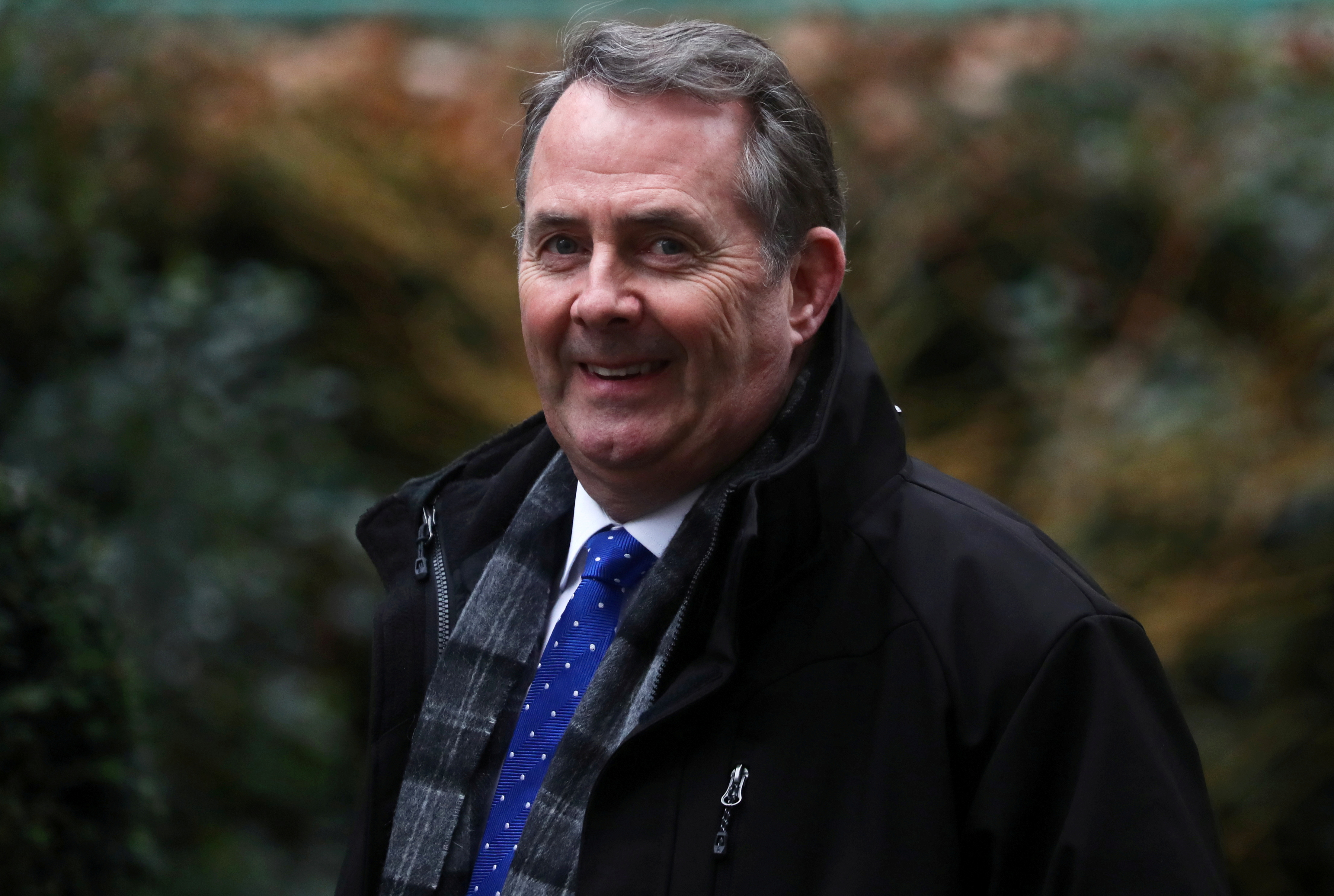 Liam Foxis seen outside Downing Street in London, Britain January 30, 2020. REUTERS/Simon Dawson/File Photo