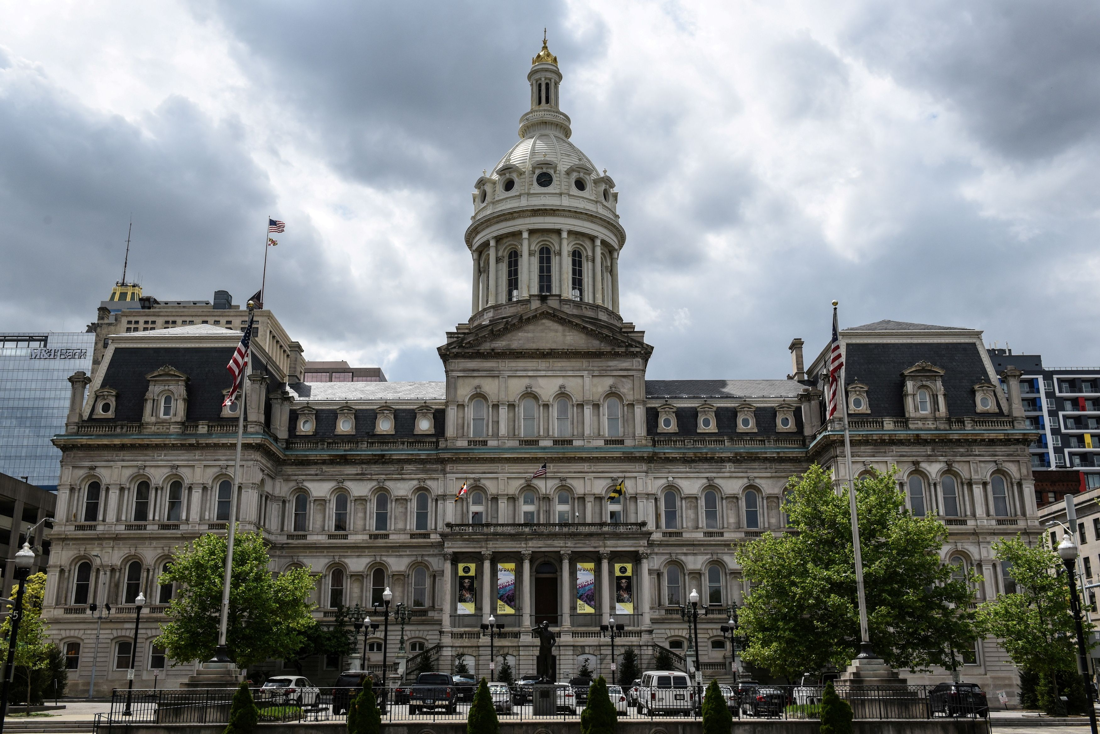 Baltimore City Hall is seen in Baltimore, Maryland, U.S. May 10, 2019. REUTERS/Stephanie Keith