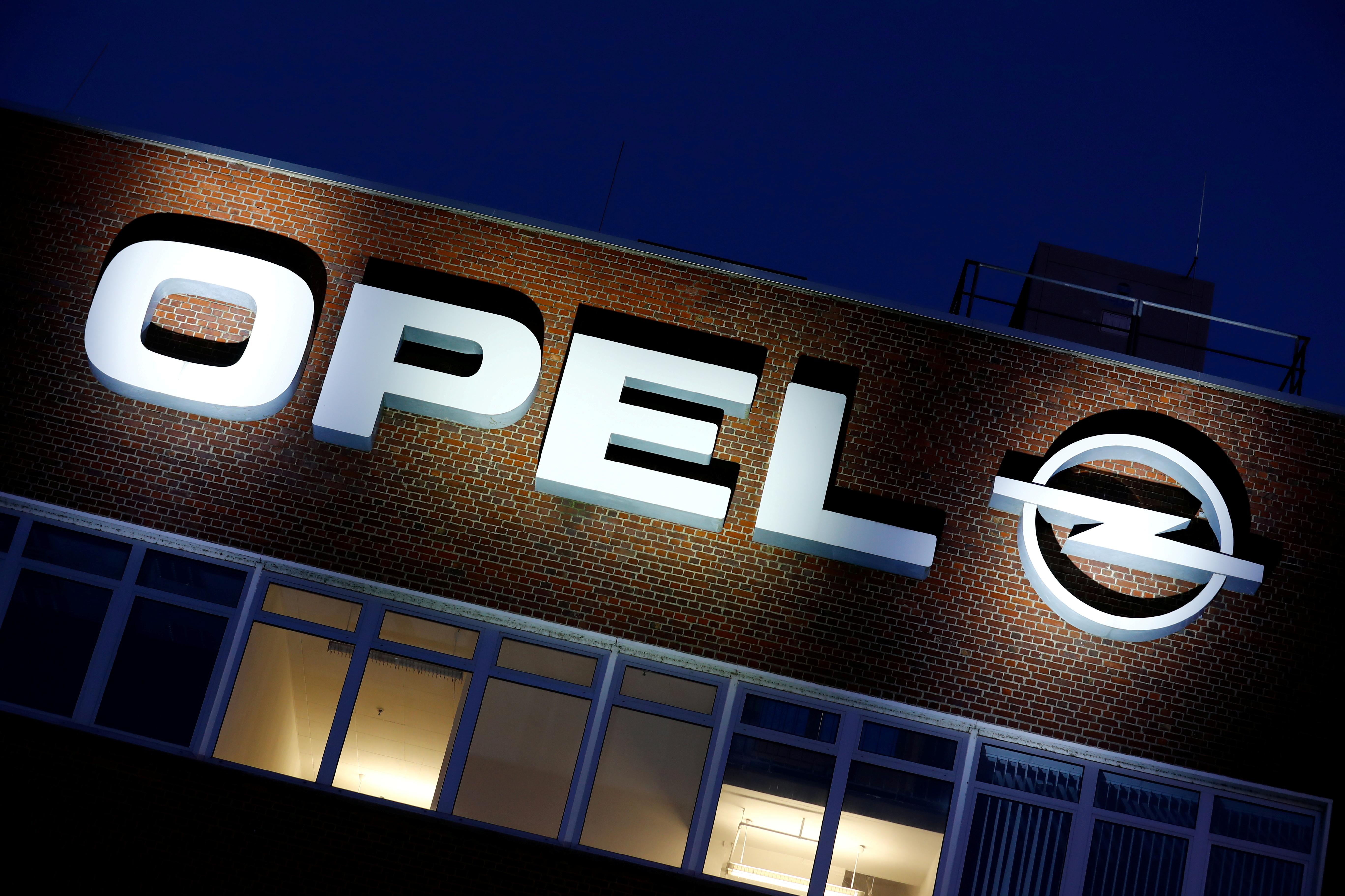 The Opel headquarters in Ruesselsheim, Germany, April 6, 2020. REUTERS/Ralph Orlowski