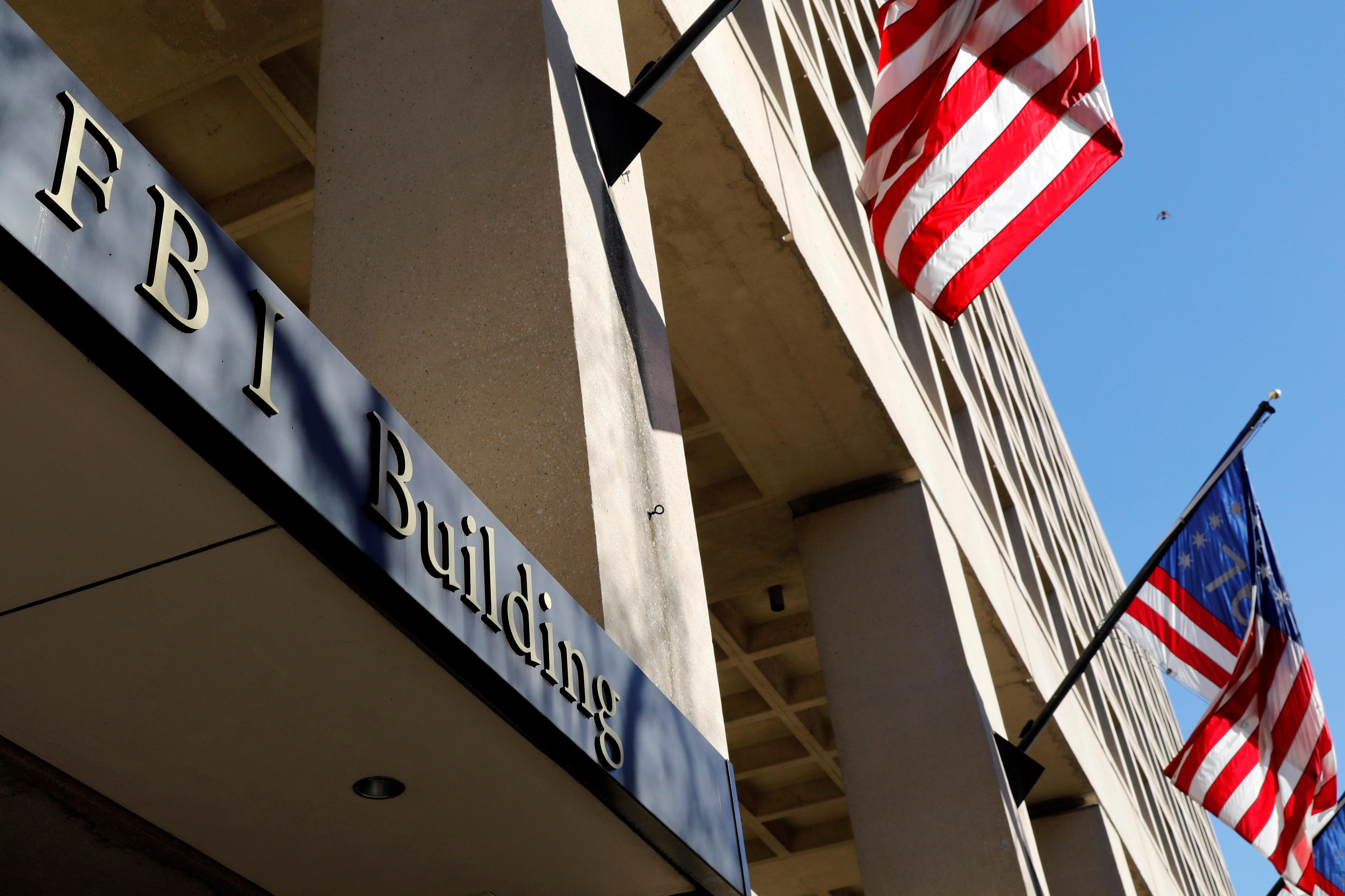 FBI headquarters building is seen in Washington, U.S., December 7, 2018. REUTERS/Yuri Gripas/File Photo