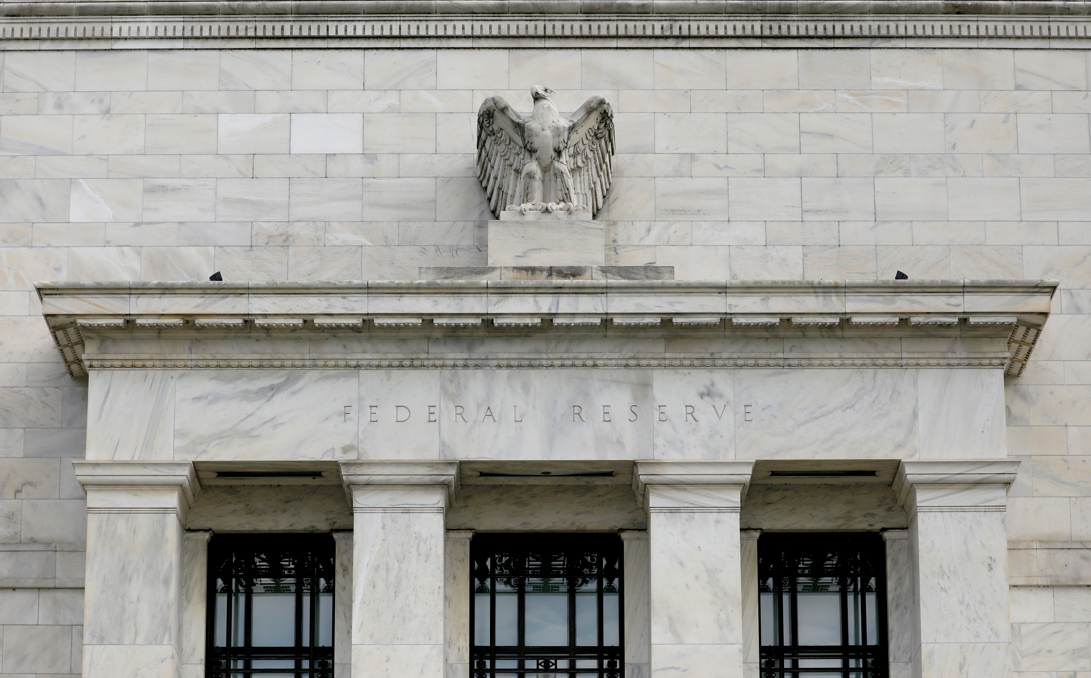 Federal Reserve building is pictured in Washington, DC, U.S., August 22, 2018. REUTERS/Chris Wattie/File Photo