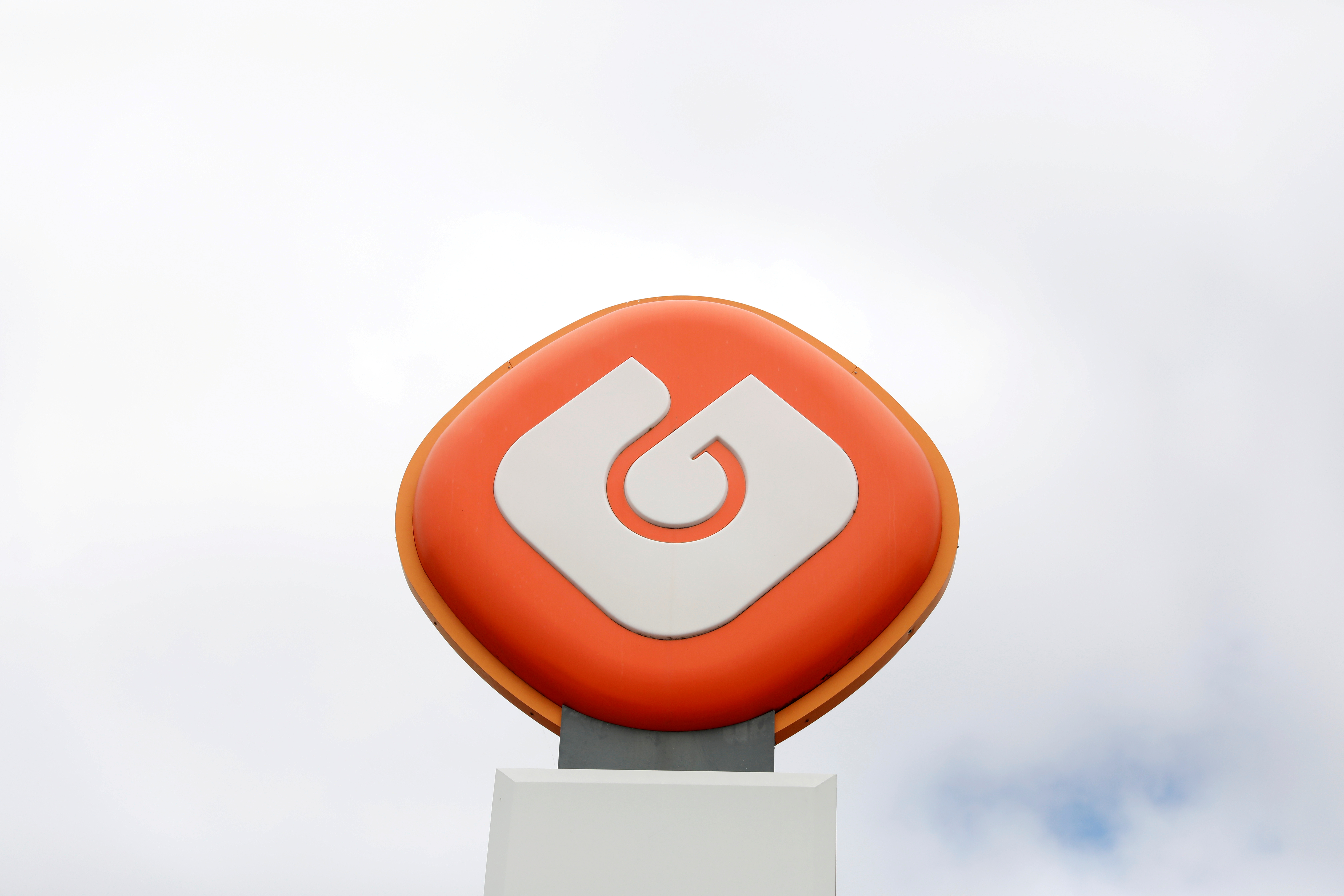 The logo of GALP is seen next to a petrol station of GALP company near Lisbon, Portugal July 30,  2018. REUTERS/Rafael Marchante/File Photo