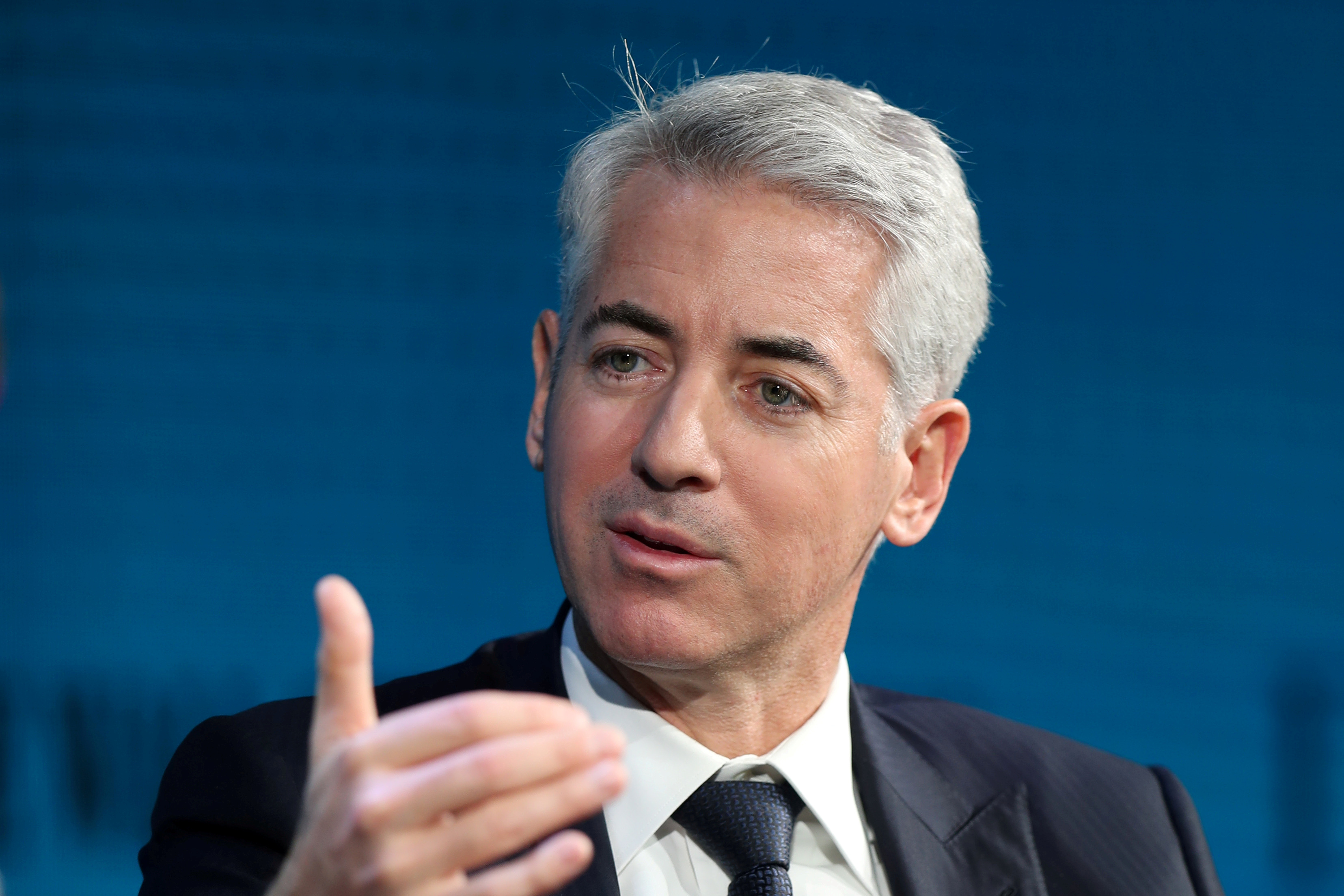 Bill Ackman, CEO of Pershing Square Capital, speaks at the Wall Street Journal Digital Conference in Laguna Beach, California, U.S., October 17, 2017. REUTERS/Mike Blake