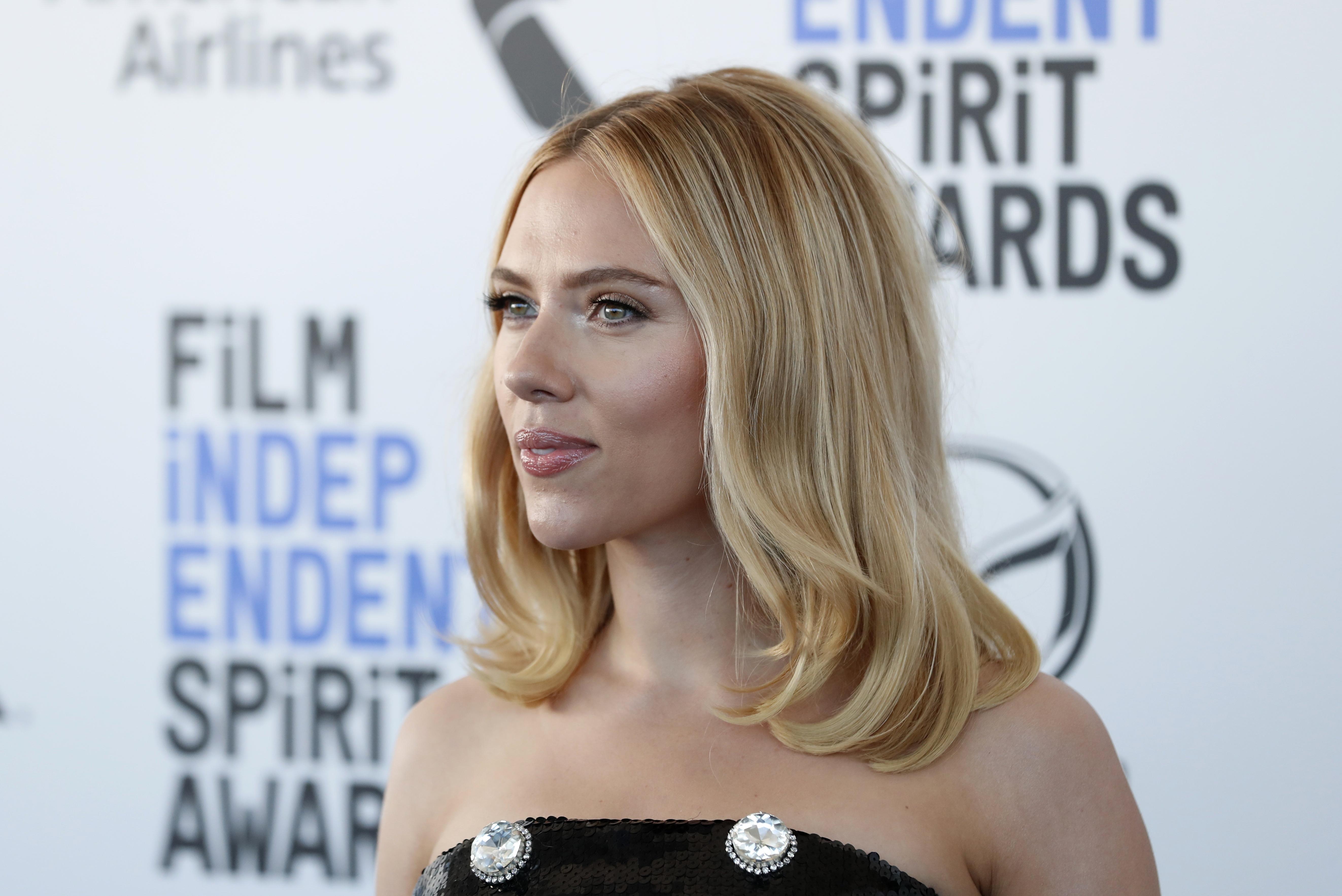Scarlett Johansson at the 35th Film Independent Spirit Awards in Santa Monica, California, February 8, 2020. REUTERS/Lucas Jackson