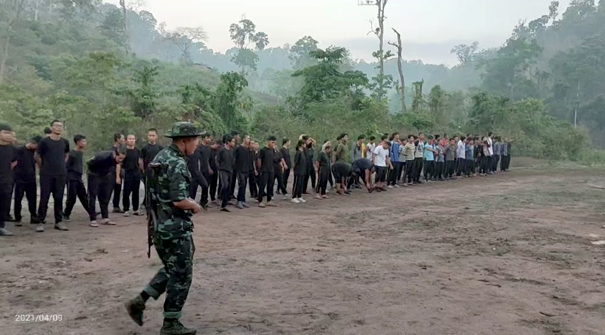 Youths in black: Myanmar protesters train to fight junta | Reuters