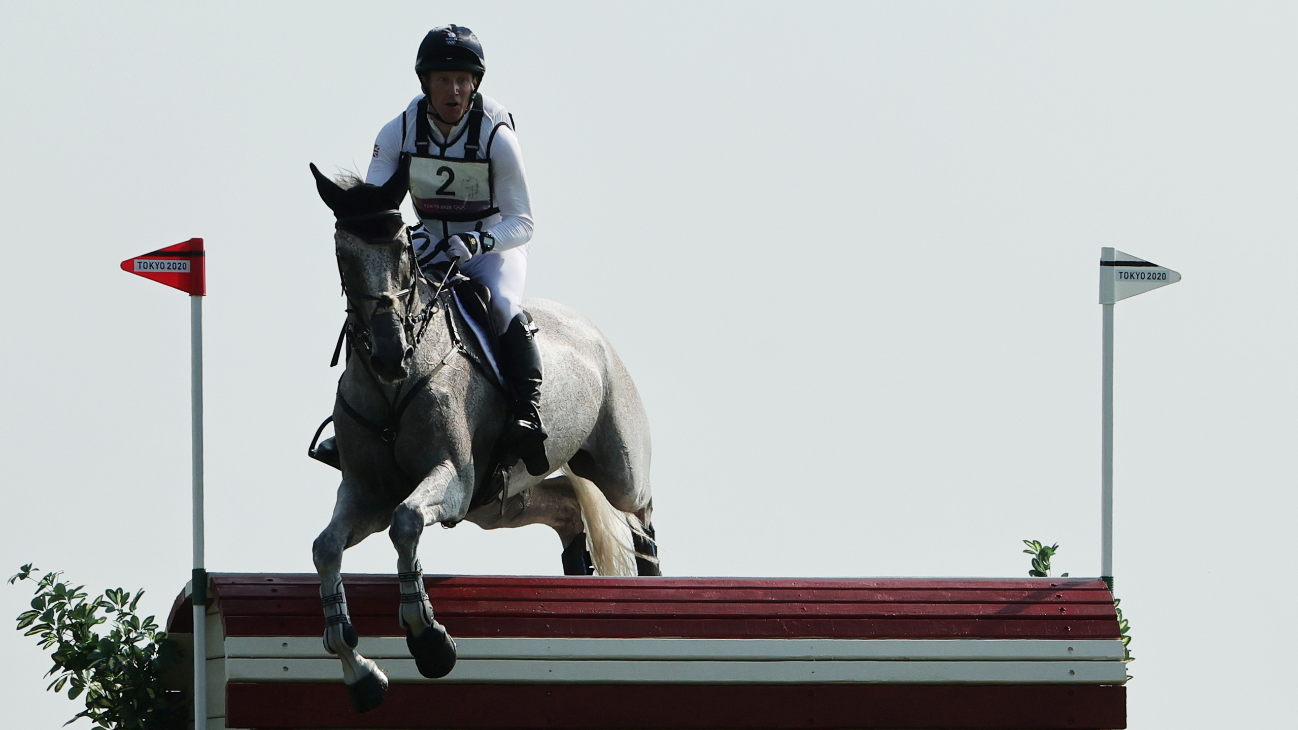 Tokyo 2020 Olympics - Equestrian - Eventing - Cross Country Team - Final - Sea Forest XC Course - Tokyo, Japan - August 1, 2021.  Oliver Townend of Britain on his horse Ballaghmor Class compete REUTERS/Alkis Konstantinidis