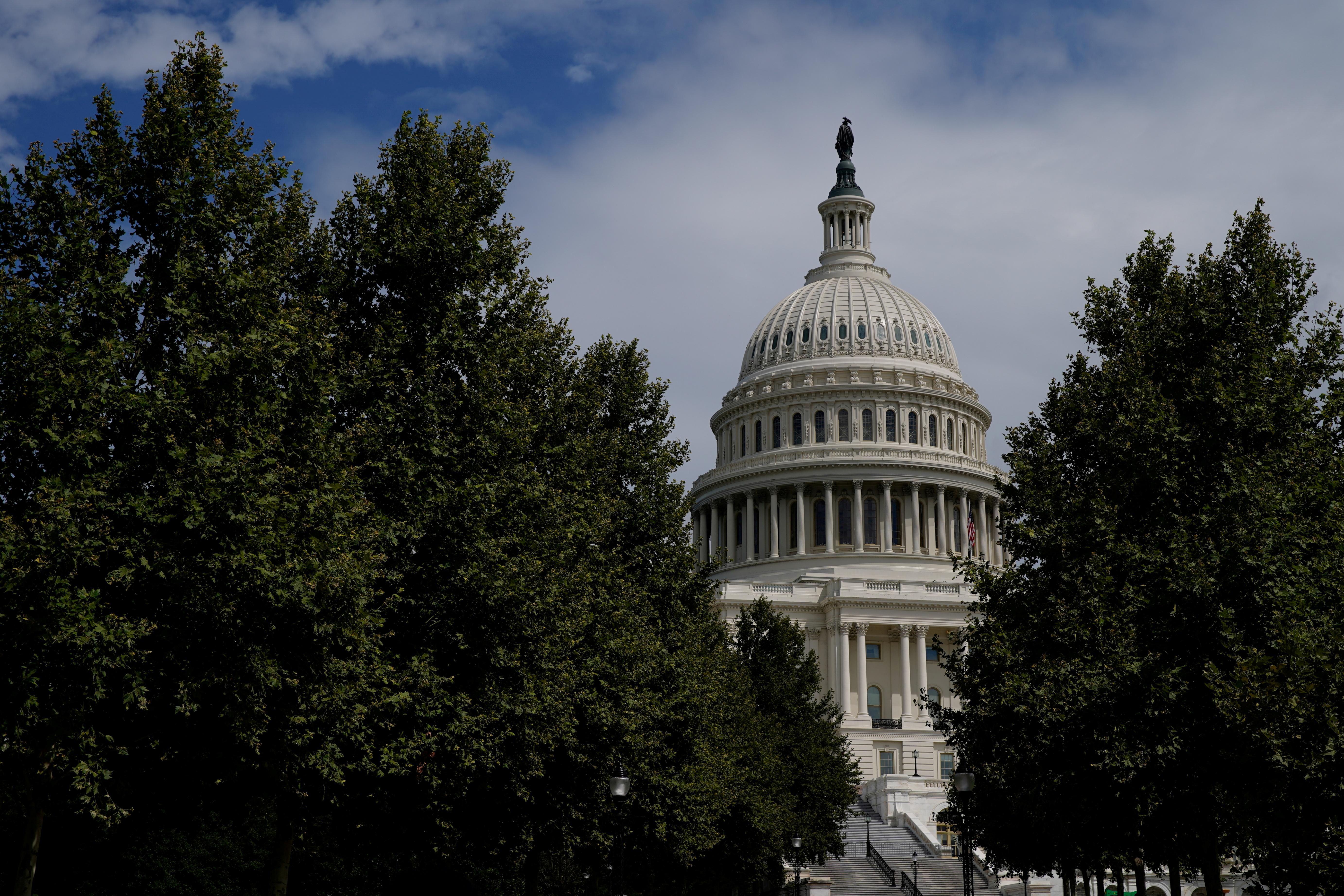 The U.S. Capitol Building is pictured in Washington, U.S., August 20, 2021. REUTERS/Elizabeth Frantz