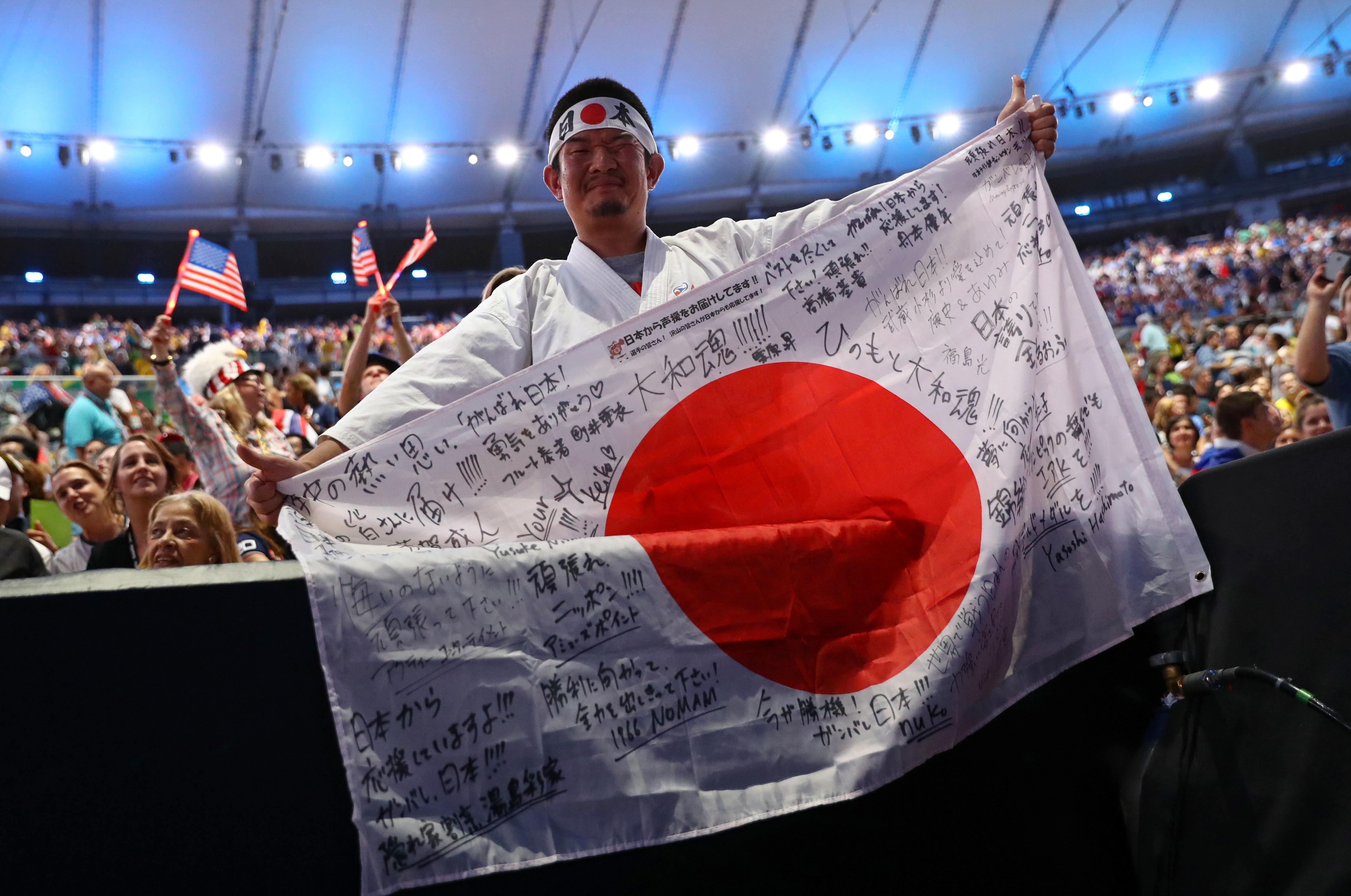 Kazunori Takishima is pictured before the opening ceremony of the Rio 2016 Olympic Games in Rio de Janeiro, Brazil, August 5, 2016. REUTERS/Kai Pfaffenbach