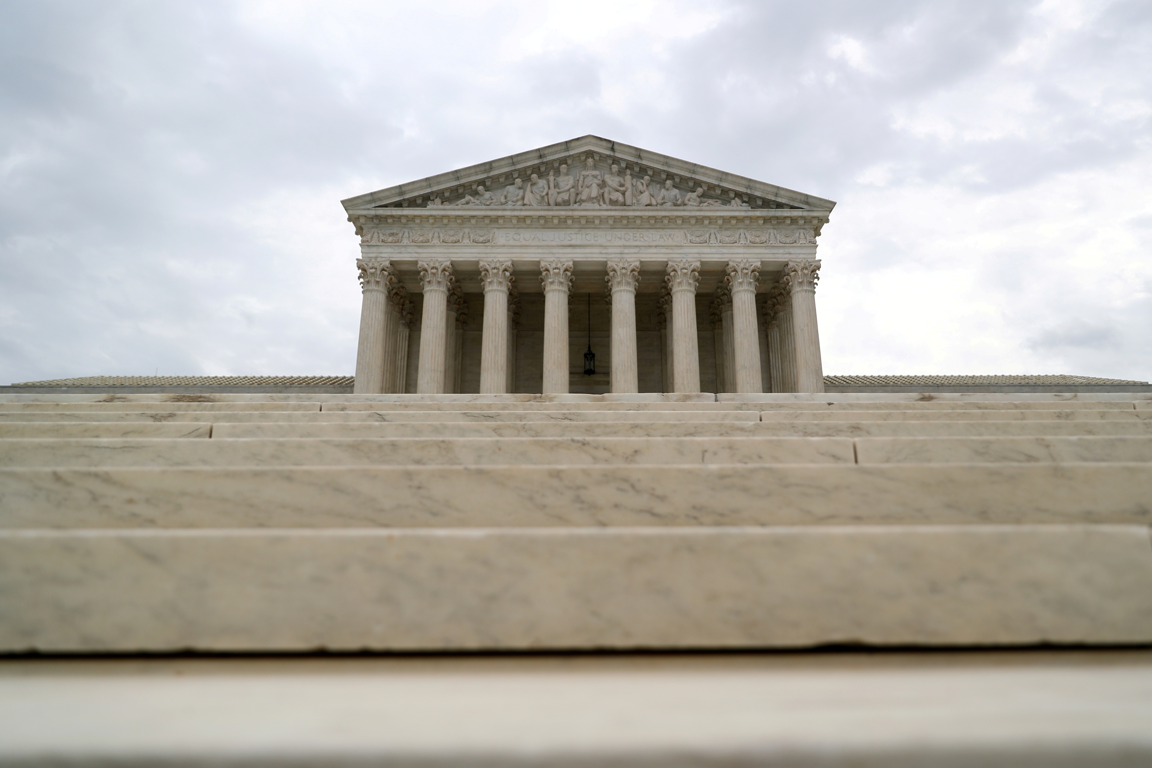 The U.S. Supreme Court is seen following an abortion ruling by the Texas legislature, in Washington, U.S., September 1, 2021.  REUTERS/Tom Brenner