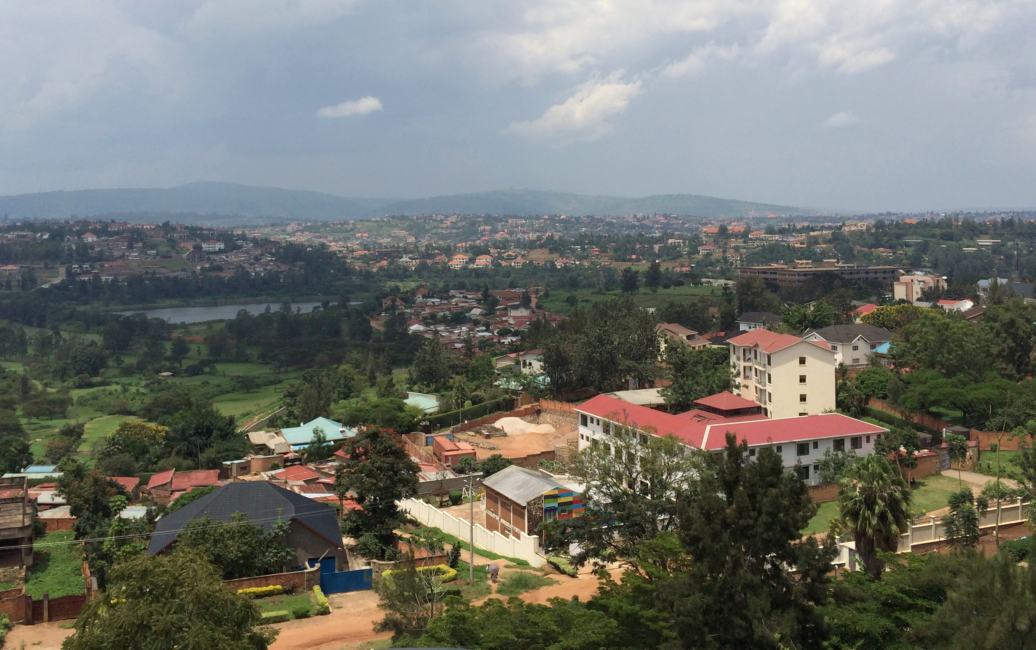 A general view of Rwanda's capital Kigali, March 26, 2014. REUTERS/Edmund Blair