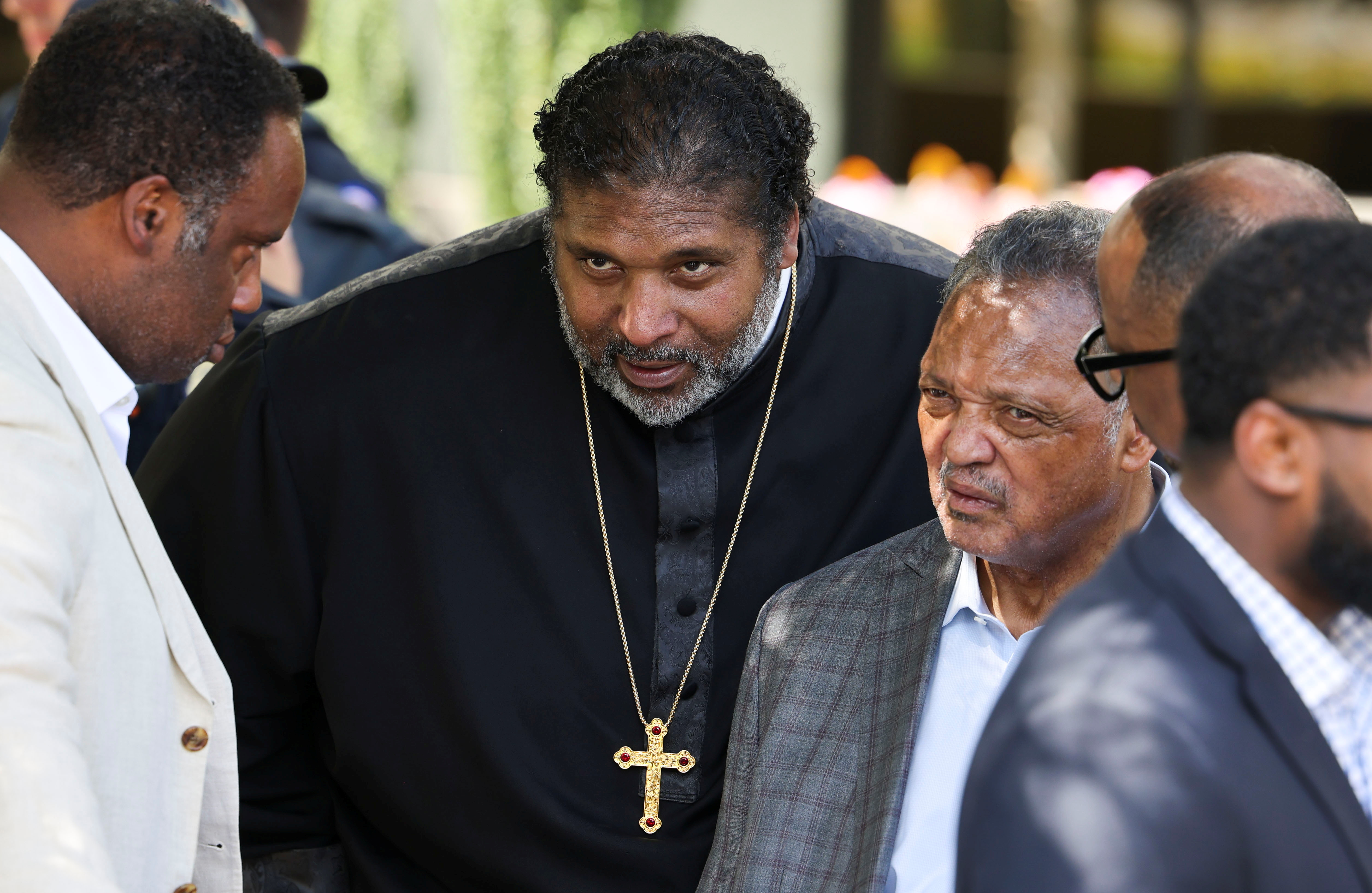 Bishop William Barber, co-chair of the