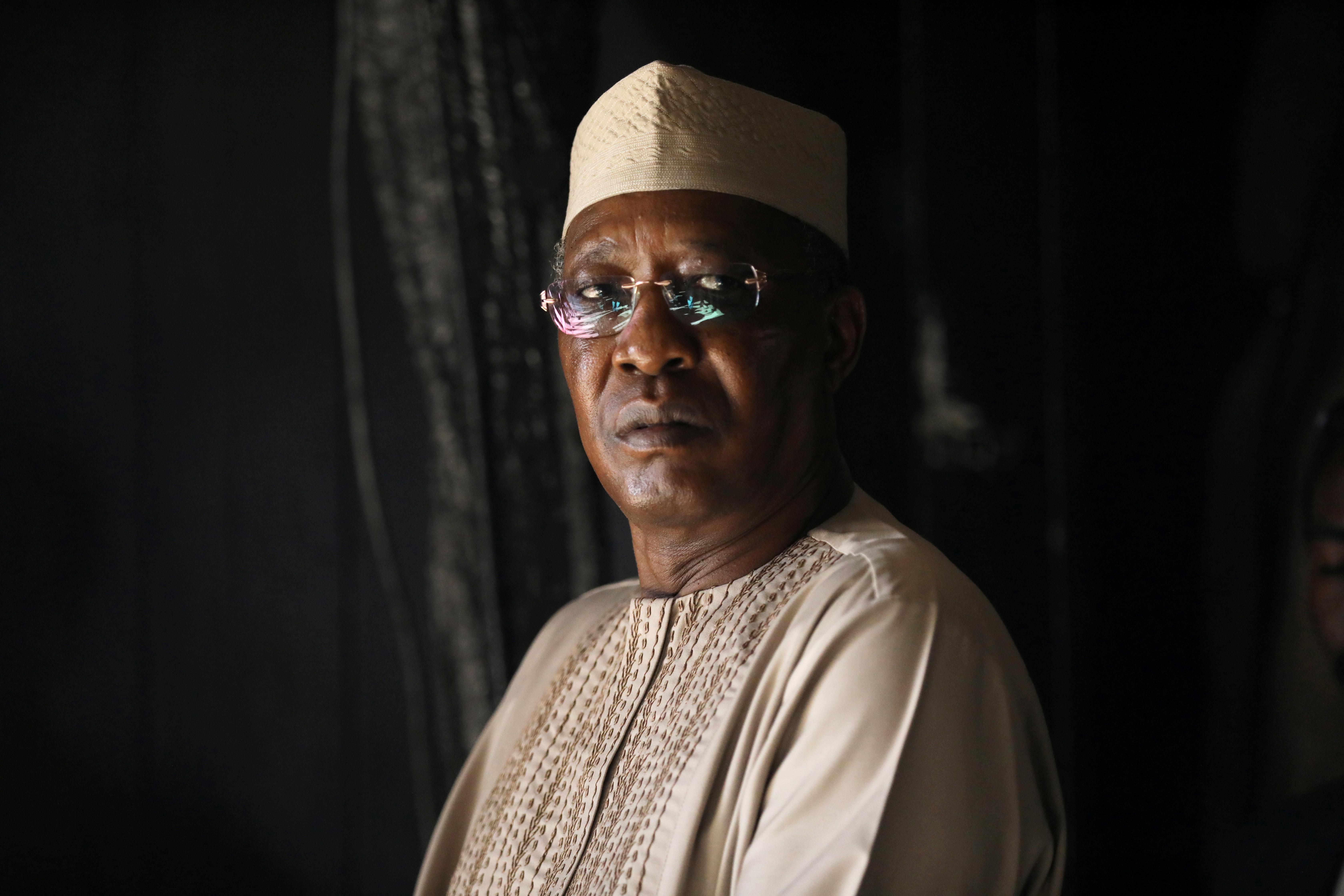 Chadian President Idriss Deby. REUTERS/Ammar Awad