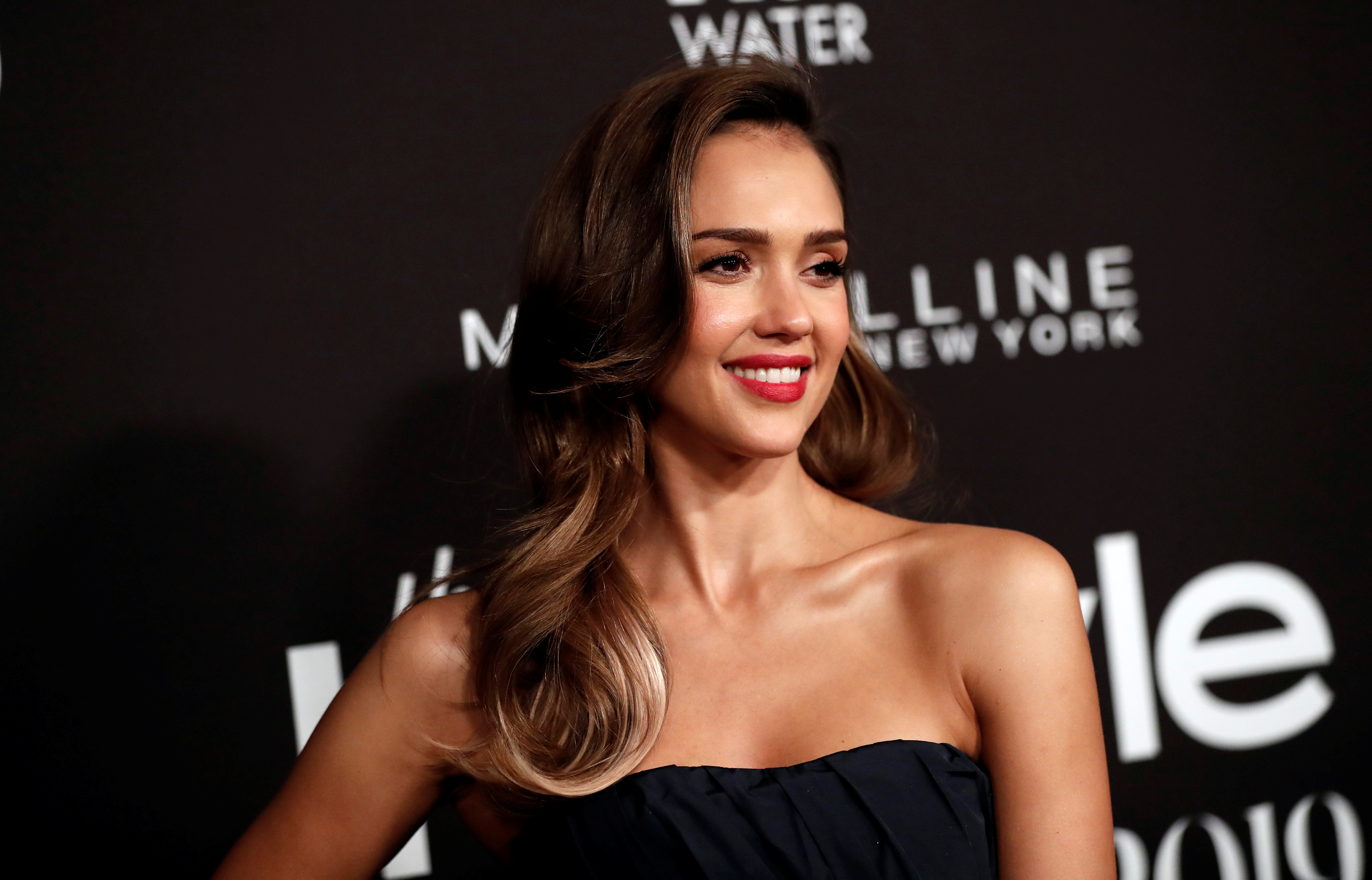 Actor Jessica Alba poses at the Fifth Annual InStyle Awards at Getty Center in Los Angeles, California, U.S., October 21, 2019. REUTERS/Mario Anzuoni