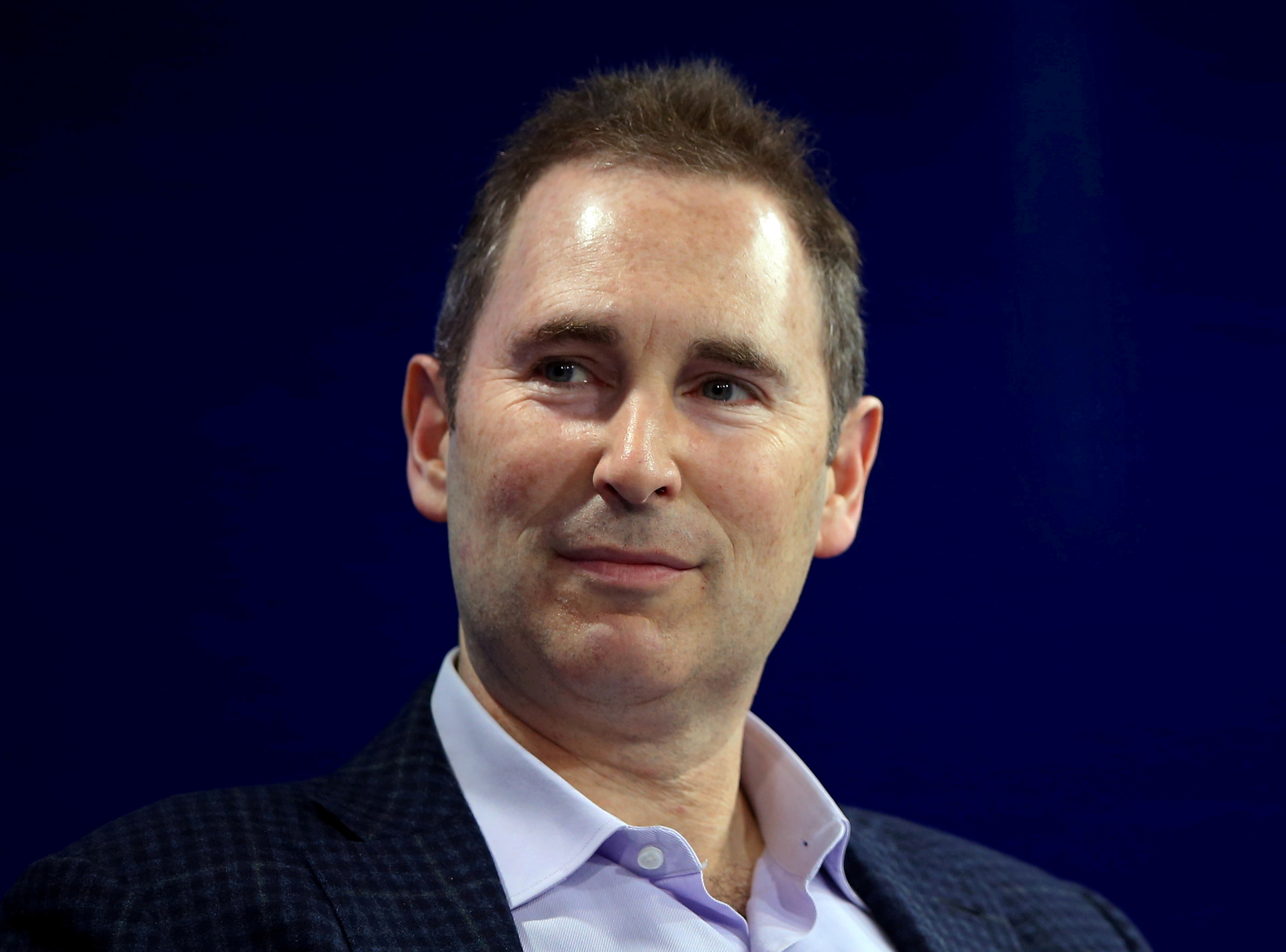 Amazon's Andy Jassy speaks at the WSJD Live conference in Laguna Beach, California, U.S., October 25, 2016.     REUTERS/Mike Blake/File Photo