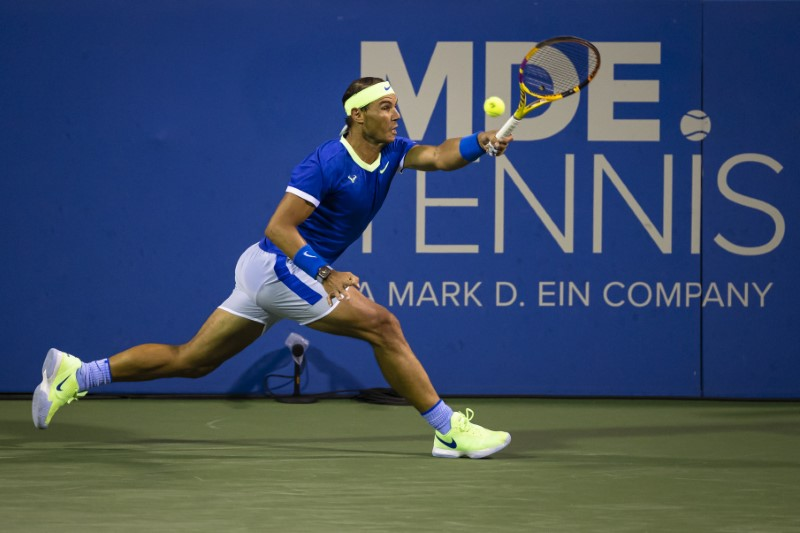 Nadal Hopes To Find Footing At Toronto Hardcourt Event Reuters