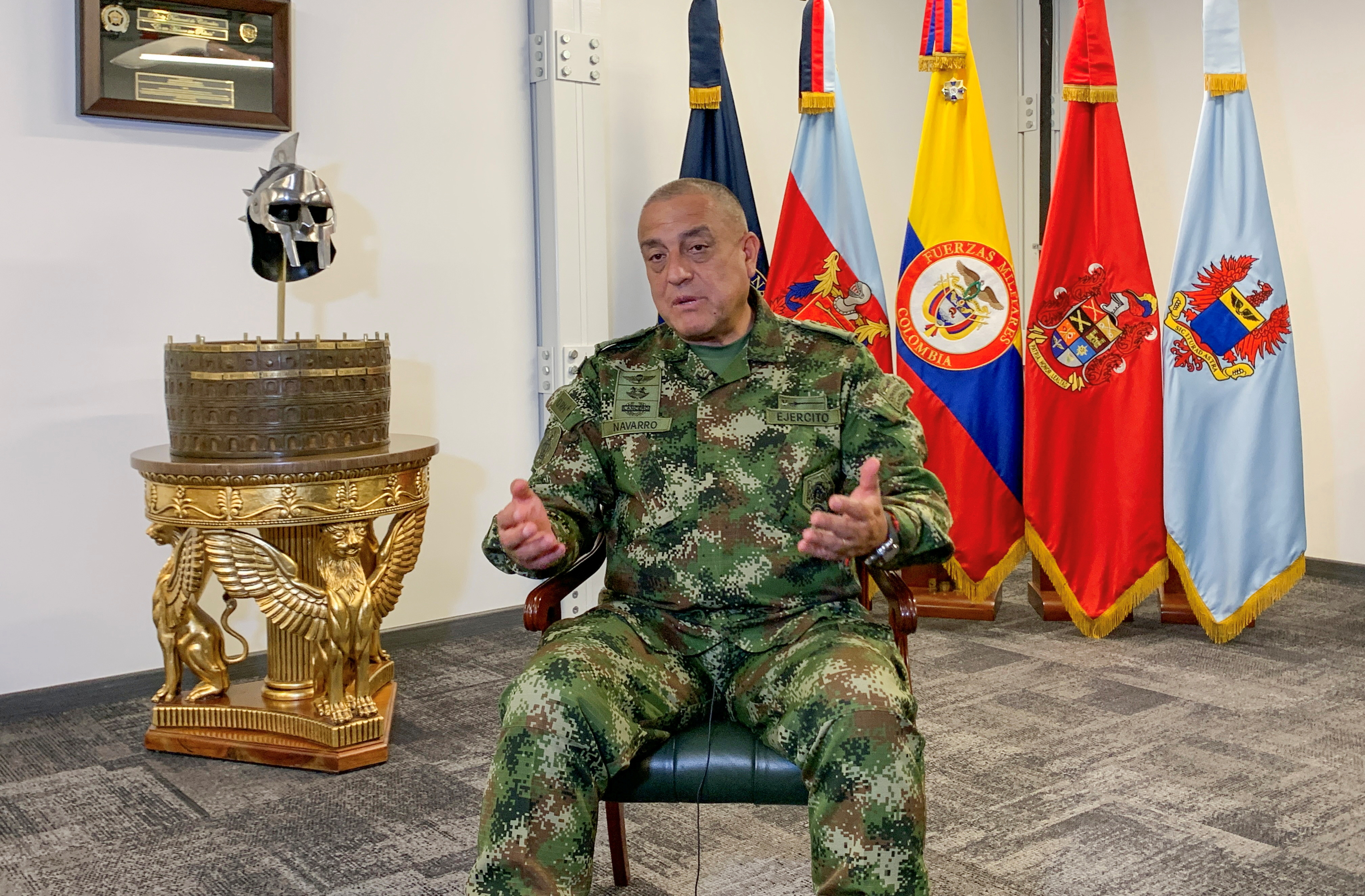 EXCLUSIVE Some 1900 Colombian guerrillas operating from Venezuela, says Colombia military chief