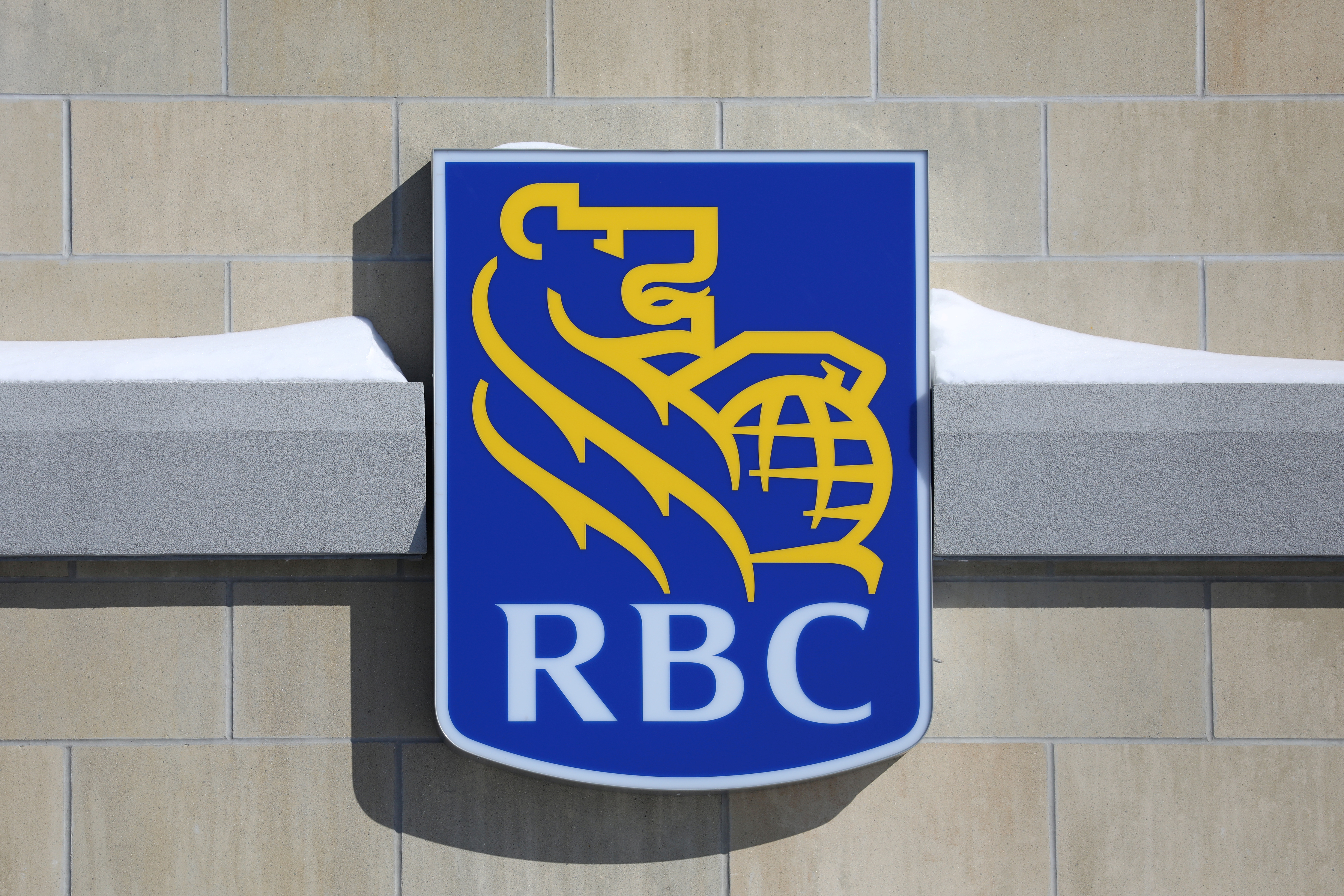 The Royal Bank of Canada (RBC) logo is seen outside of a branch in Ottawa, Ontario, Canada, February 14, 2019. REUTERS/Chris Wattie/File Photo