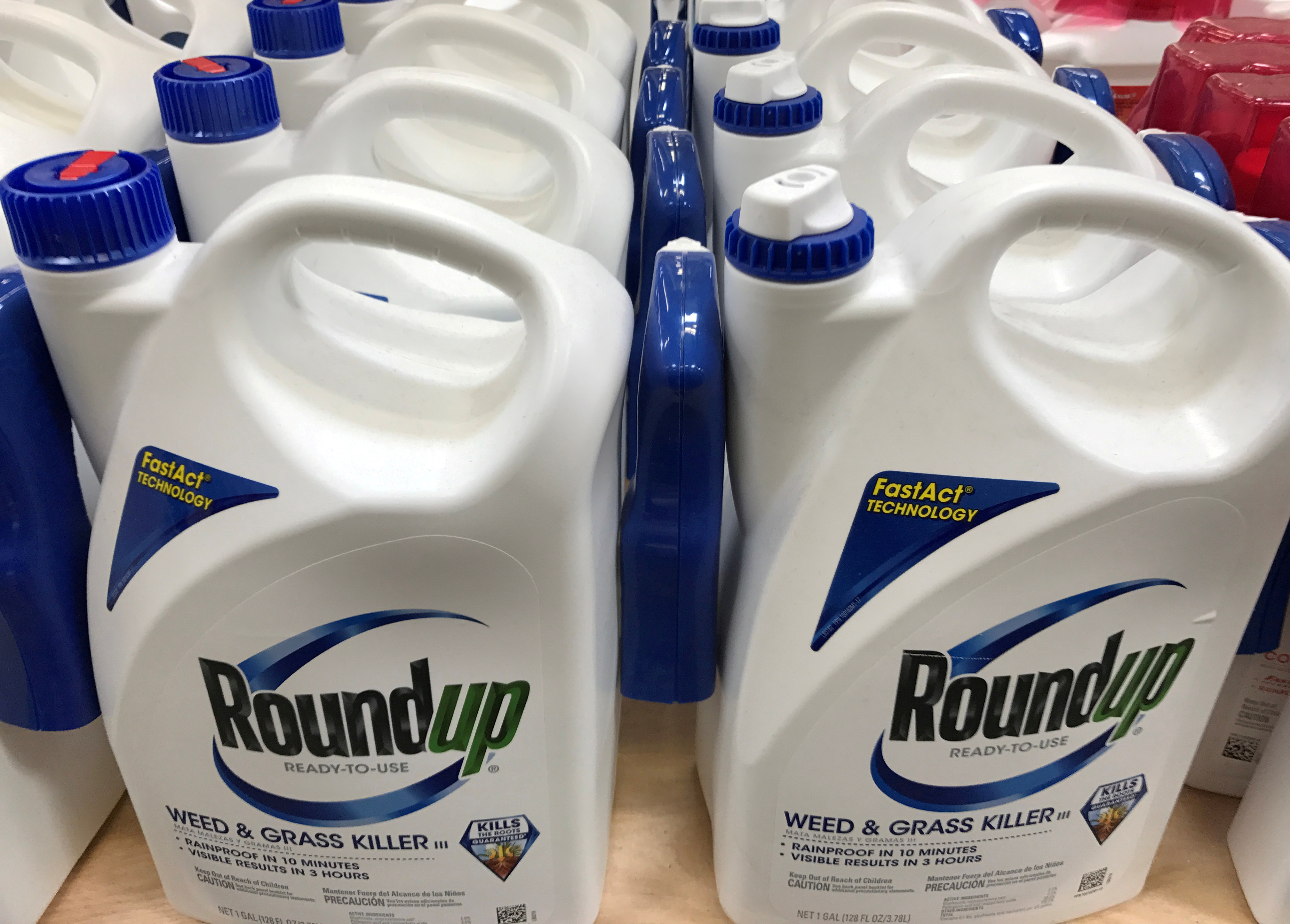 Monsanto Co's Roundup is shown for sale in Encinitas, California. REUTERS/Mike Blake