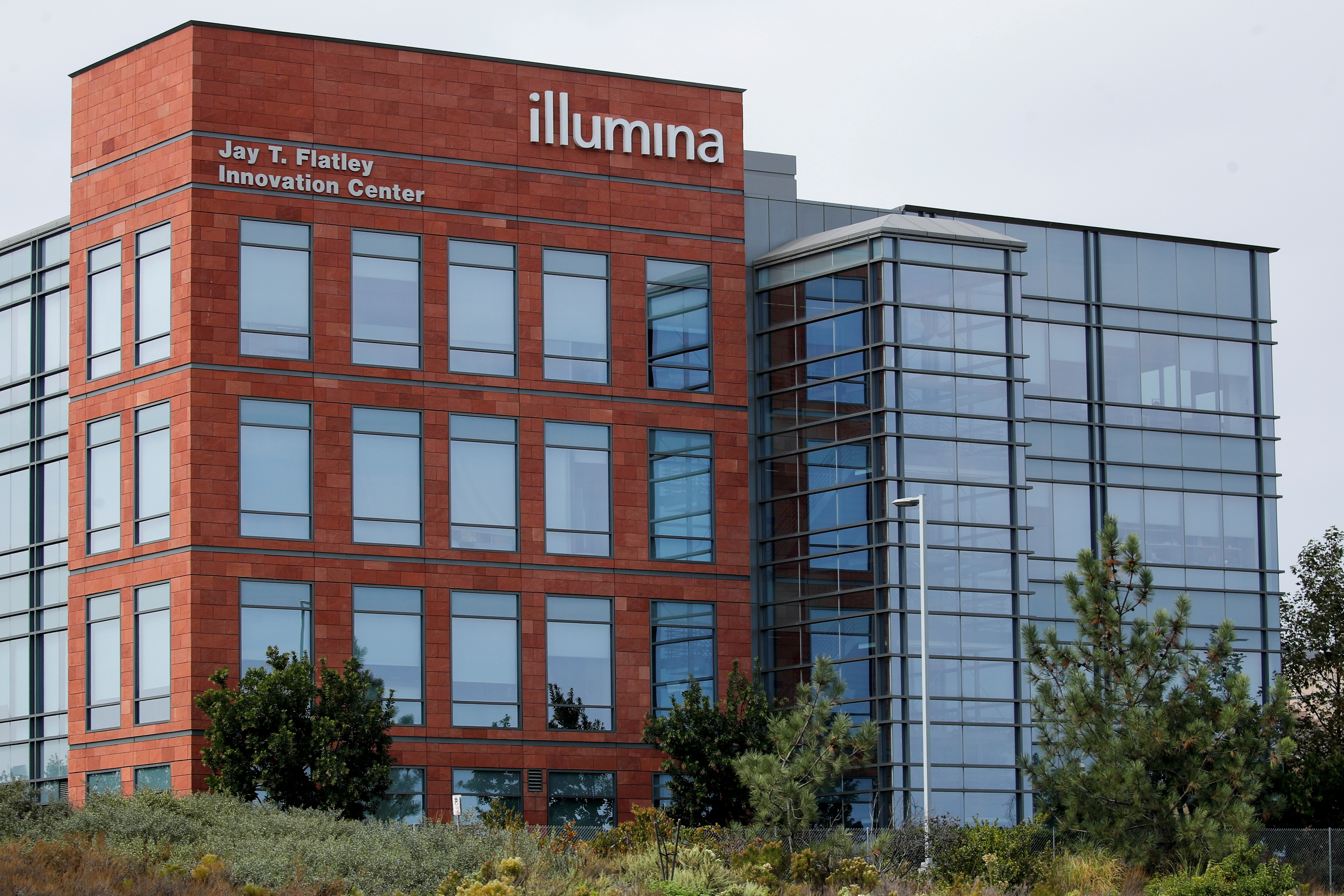 One of the office complexes of Illumina, Inc is shown in San Diego, California. REUTERS/Mike Blake