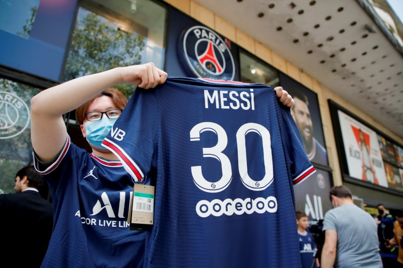 The Pull Of Brand Messi Shirts Social Media And Tv Rights Reuters