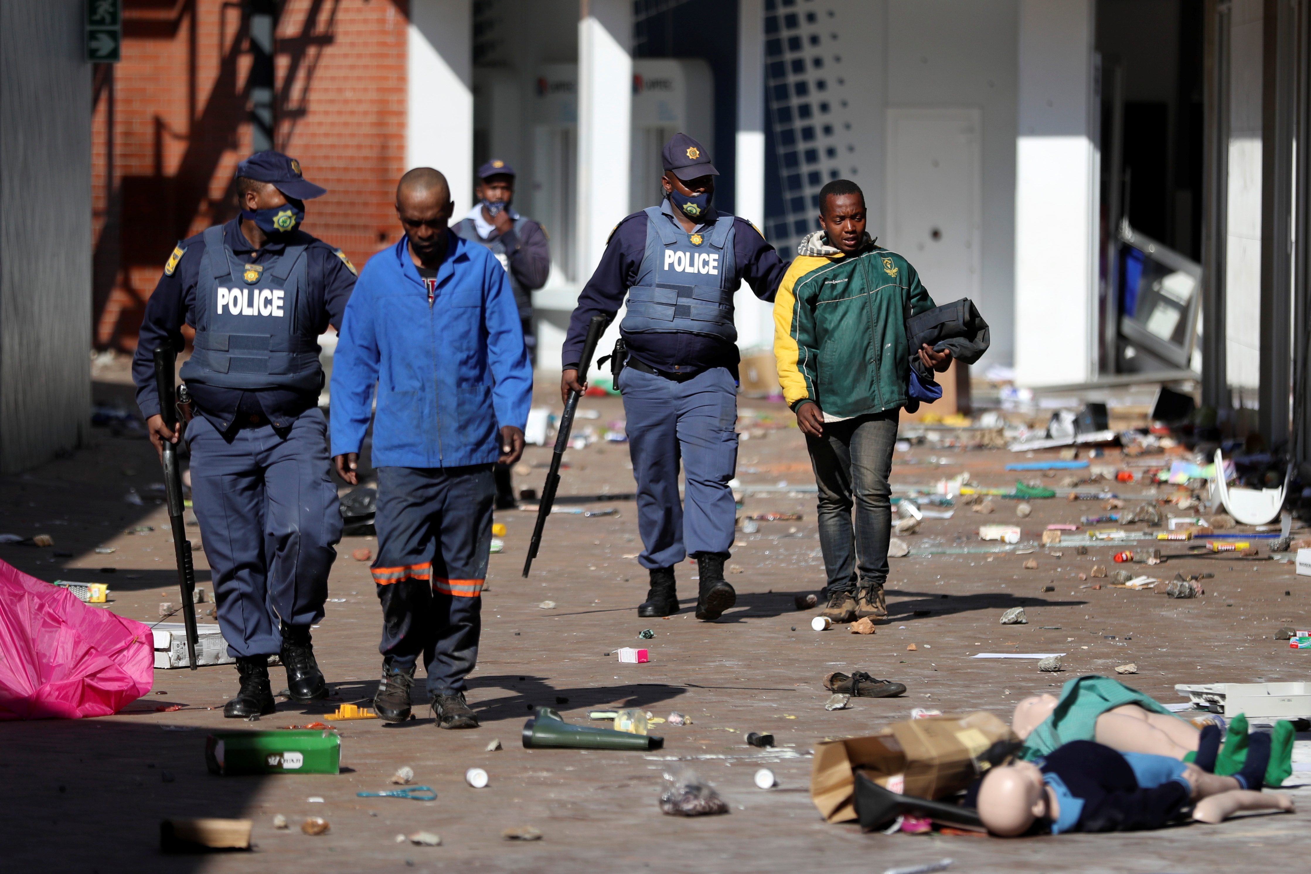 South Africa deploys army to quell unrest linked to Zuma jailing | Reuters
