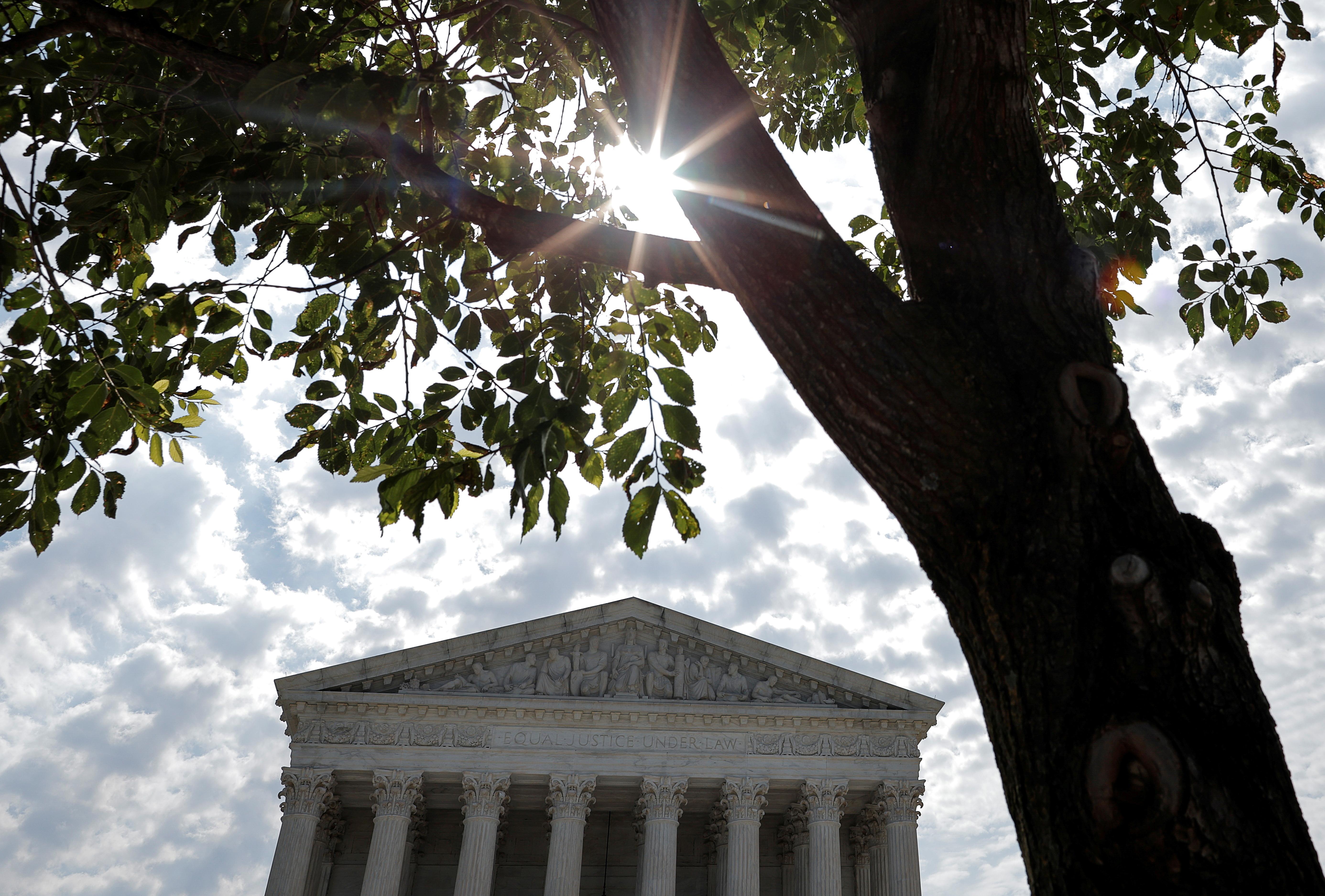The U.S. Supreme Court is seen in Washington, U.S., June 14, 2021. REUTERS/Carlos Barria