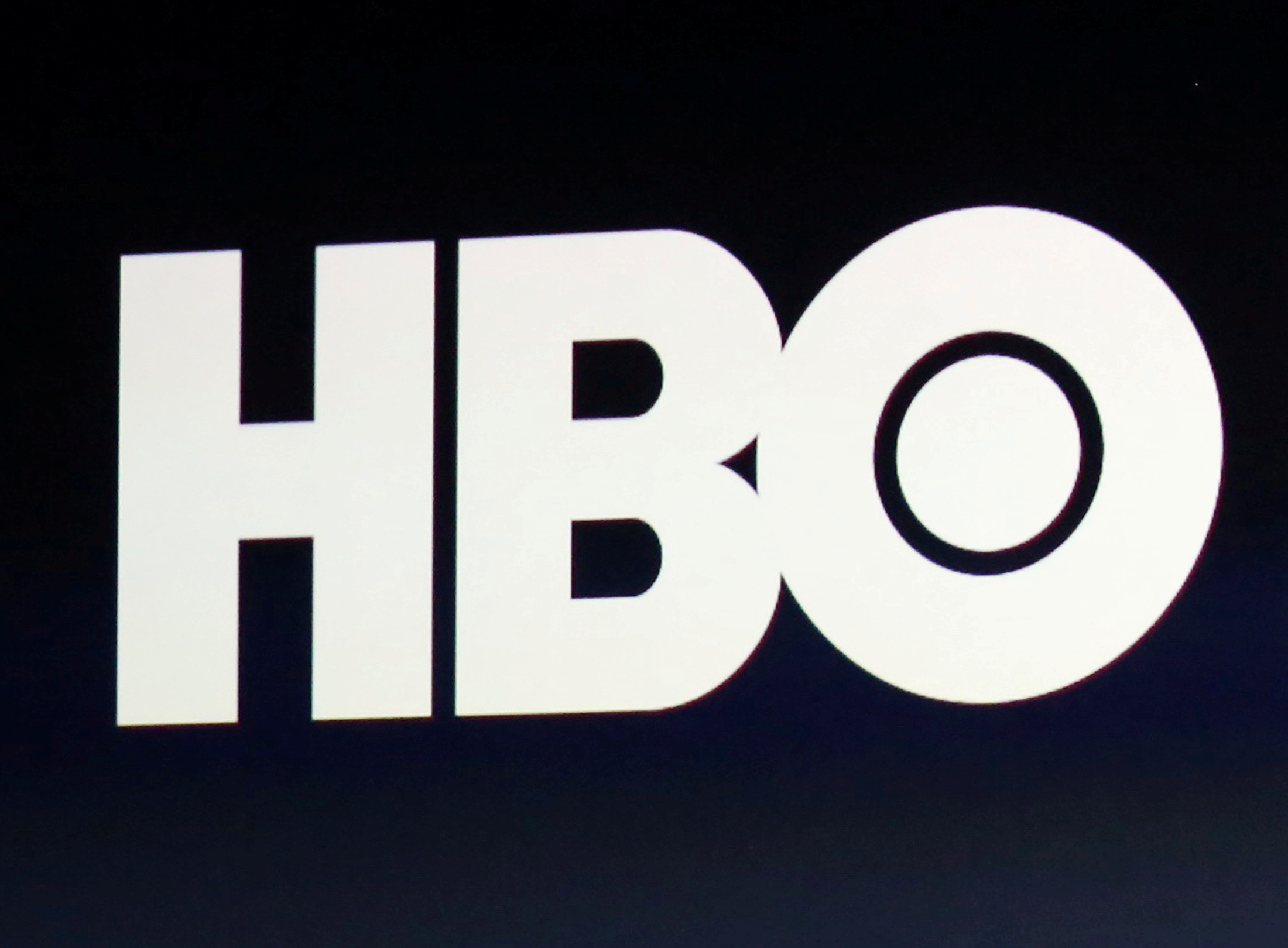 HBO logo is on display during an Apple event in San Francisco, California, U.S., March 9, 2015.  REUTERS/Robert Galbraith