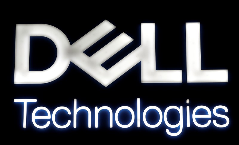 A logo of Dell Technologies is seen at the Mobile World Congress in Barcelona, Spain February 28, 2018. REUTERS/Yves Herman